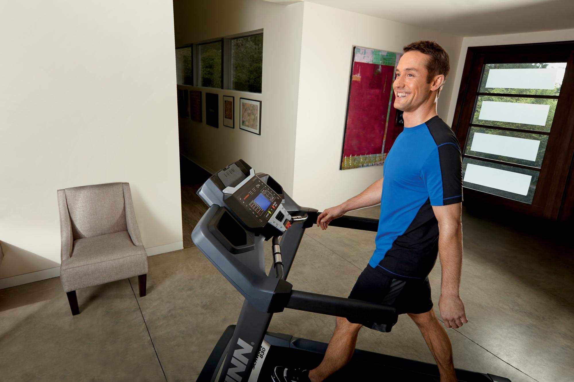 Schwinn 830 Treadmill with 2.75 CHP Motor, Multi-LCD Display and Cushioning System