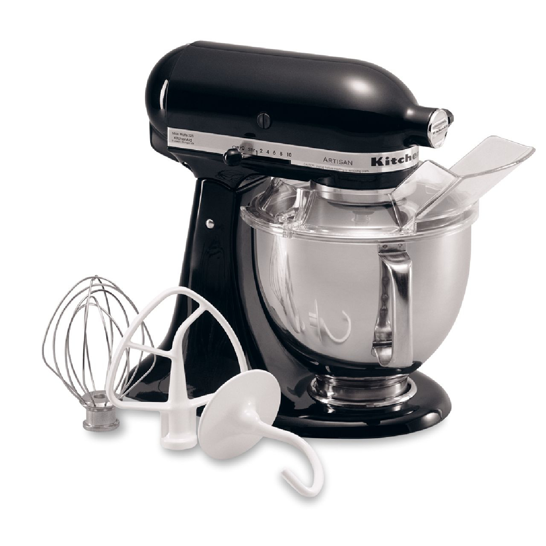 KitchenAid KSM150PSOB Artisan® Series Onyx Black 5 Quart Stand Mixer