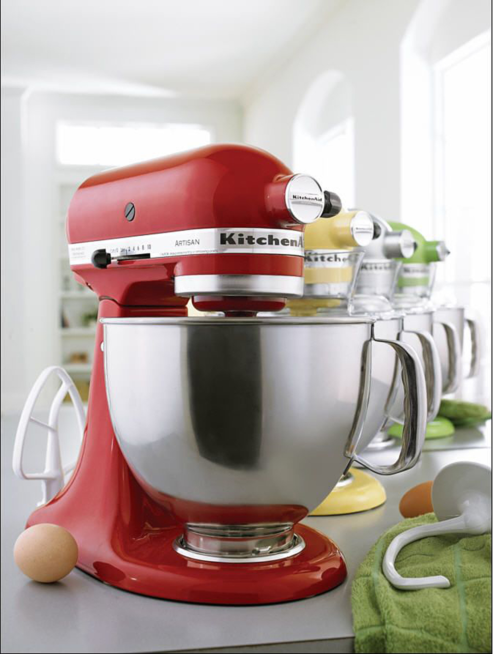 KitchenAid KSM150PSER Artisan® Series Empire Red 5 Quart Stand Mixer