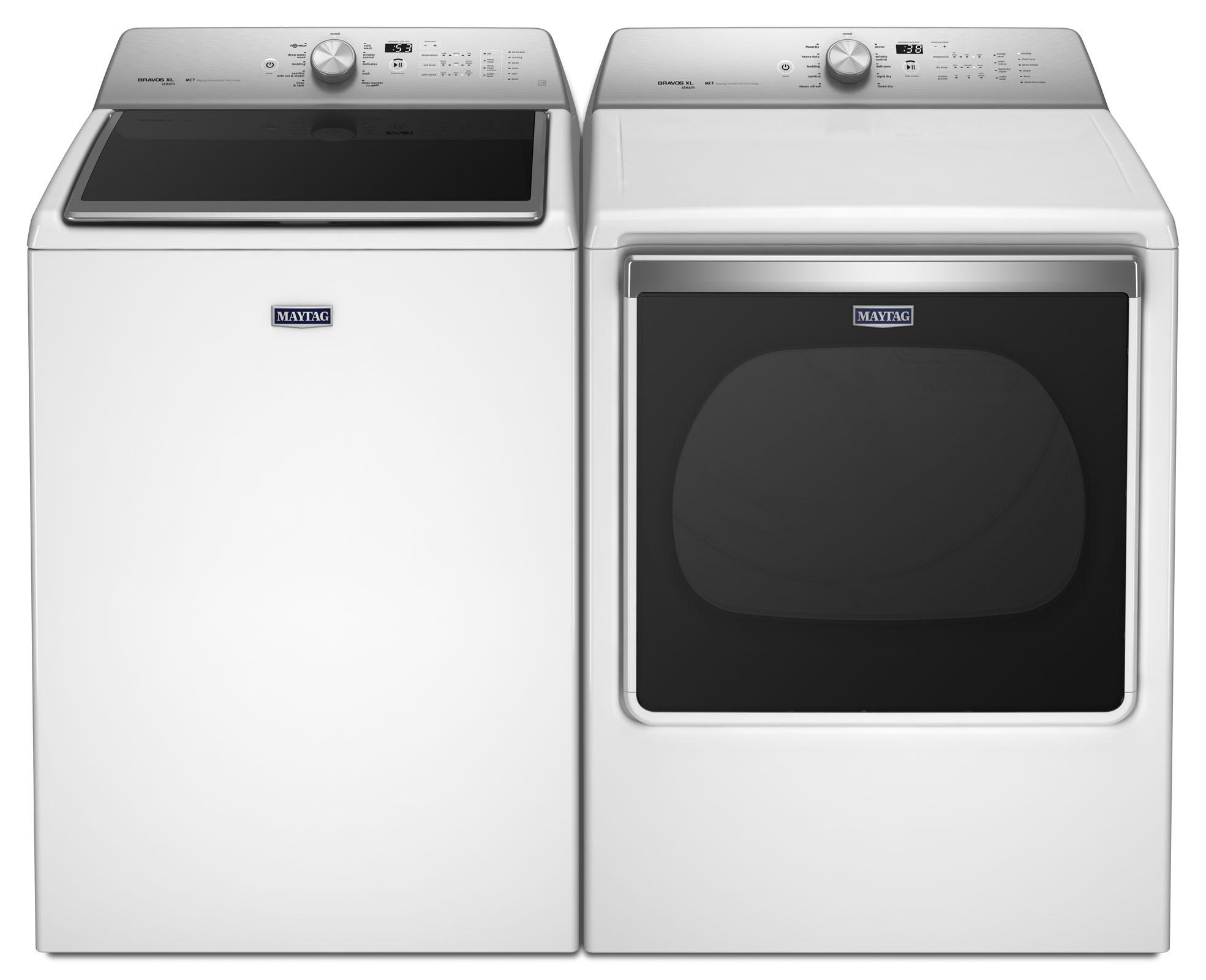 Centennial® 5.3 cu. ft. Top Load Washer & Centennial® 8.8 cu. ft. Dryer