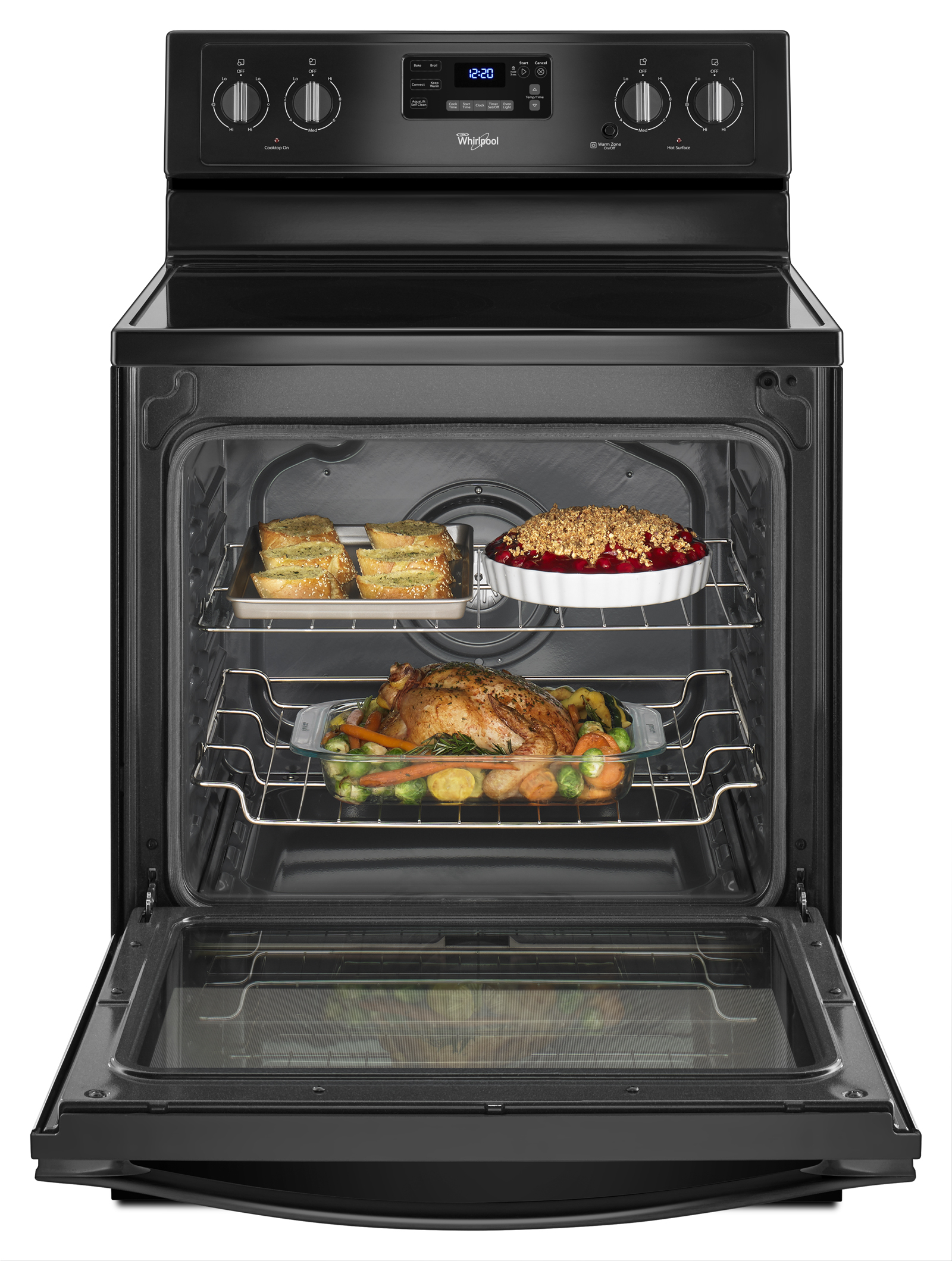 Whirlpool WFE540H0EB 6.4 cu. ft. Freestanding Electric Range - Black