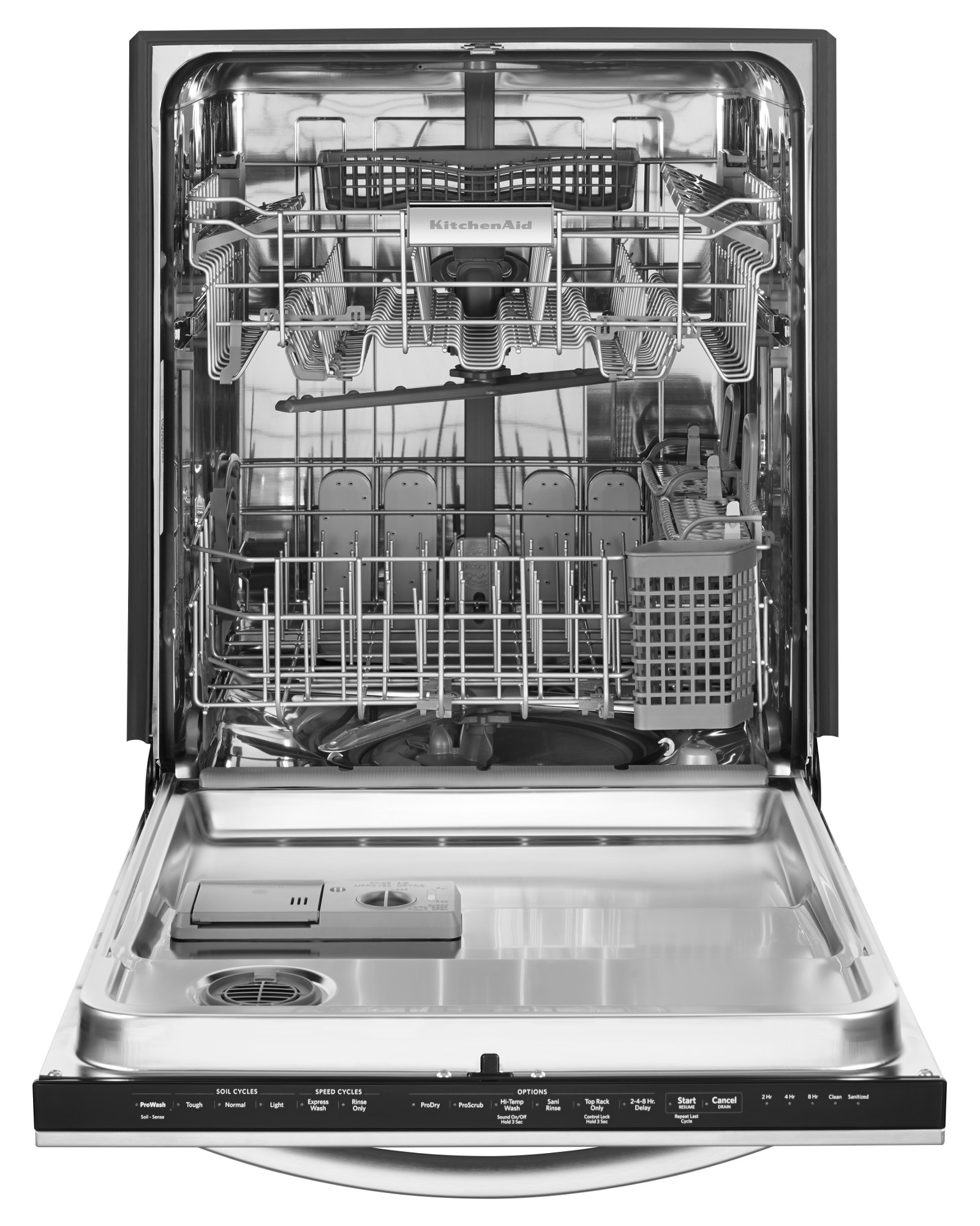 Kitchenaid Kdtm354dss 24 Quot Built In 6 Cycle Dishwasher W