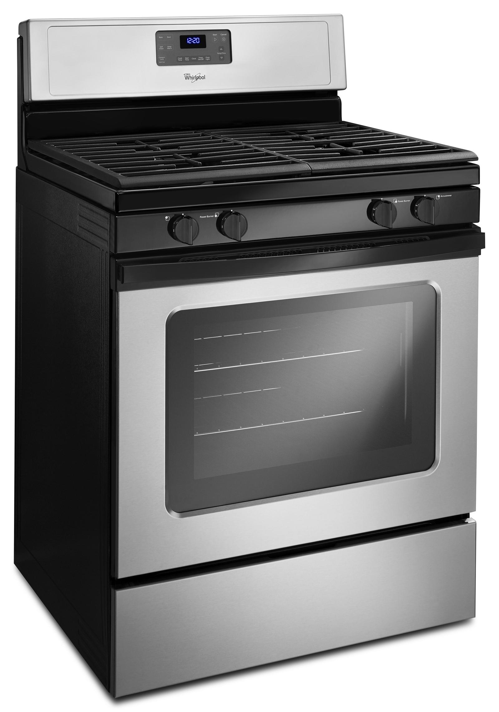 Whirlpool WFG515S0ED 5.0 cu. ft. Freestanding Gas Range - Silver