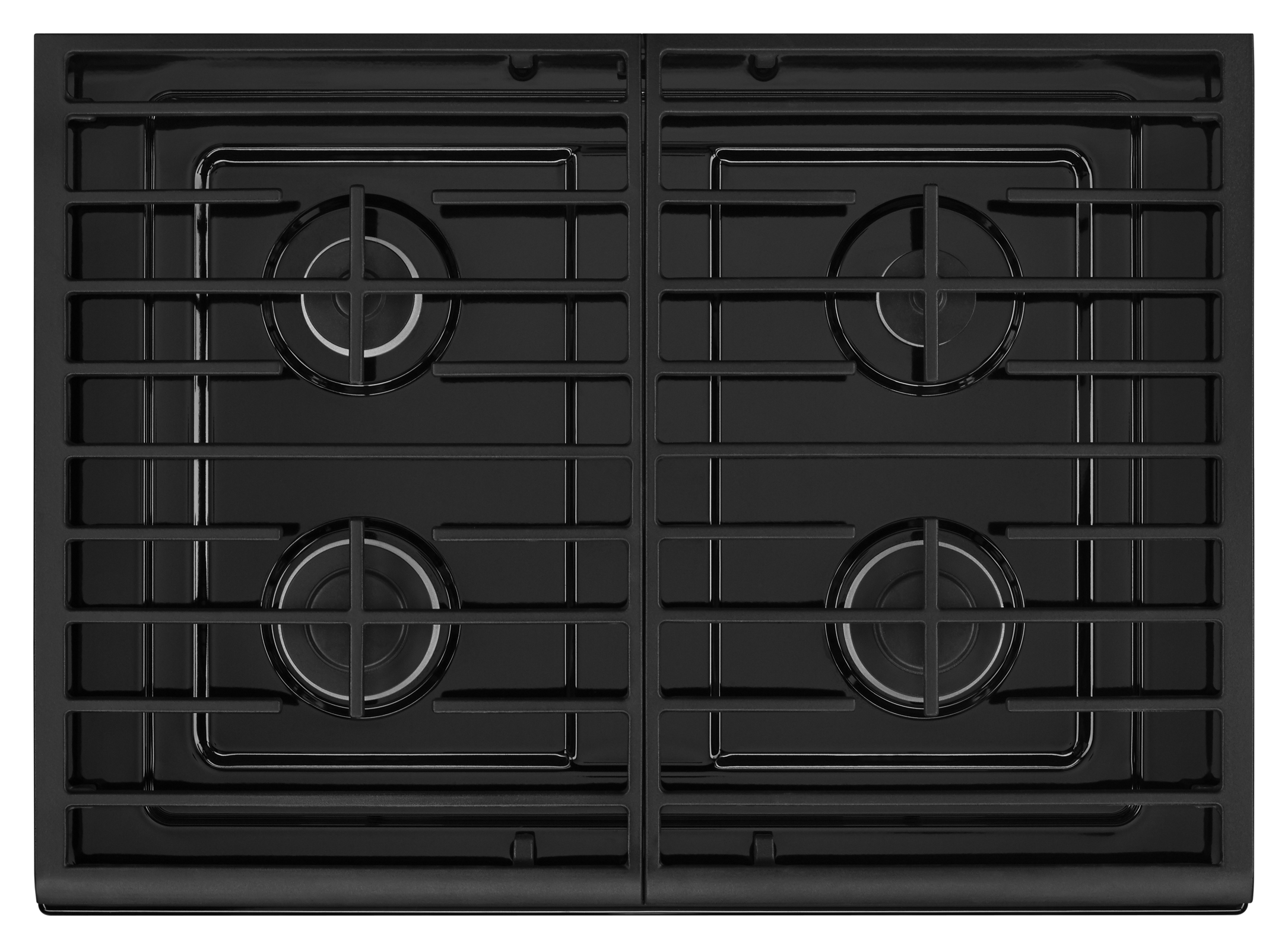 Whirlpool WFG515S0EB 5.0 cu. ft. Freestanding Gas Range - Black