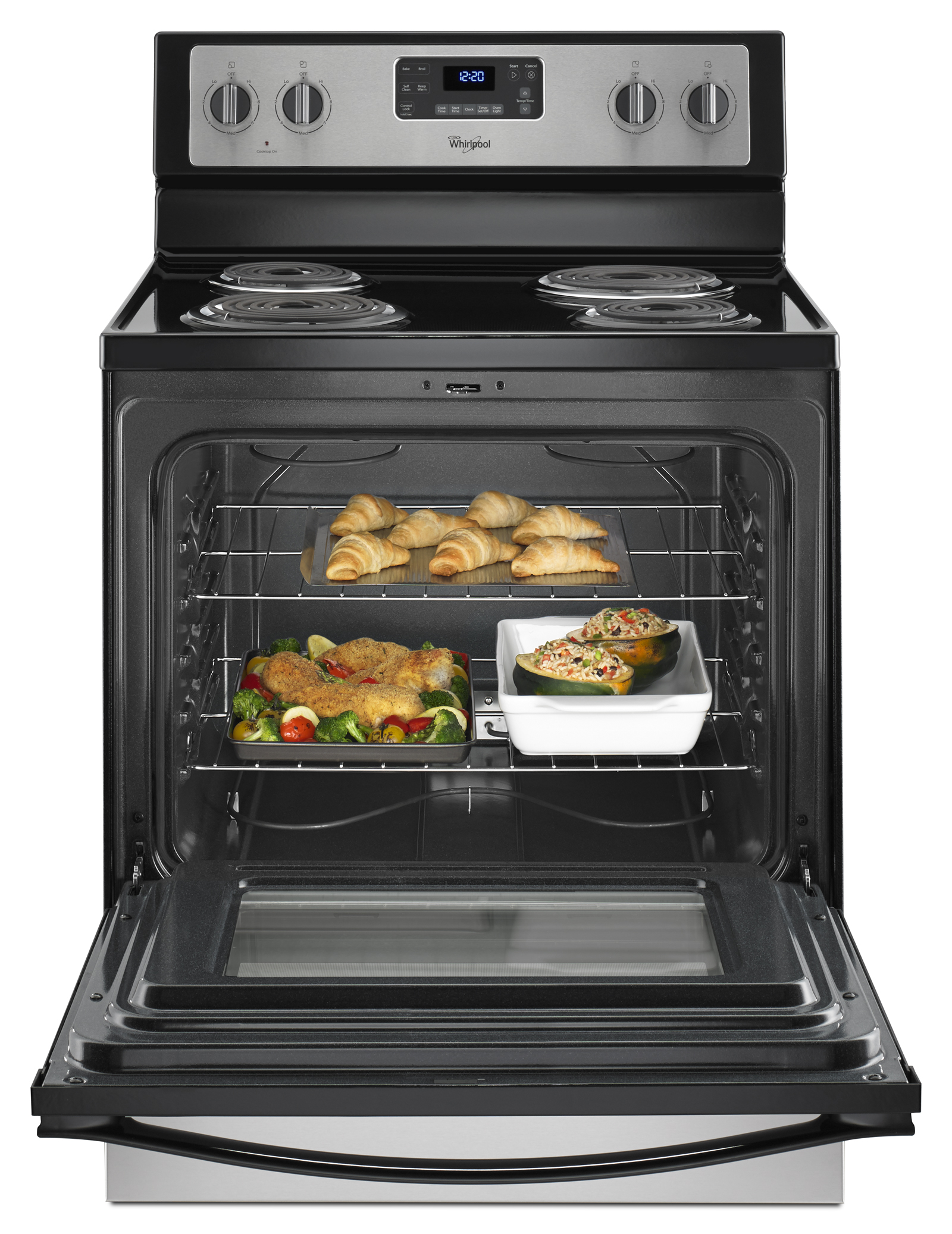 Whirlpool WFC310S0ES 4.8 cu. ft. Freestanding Electric Range - Stainless