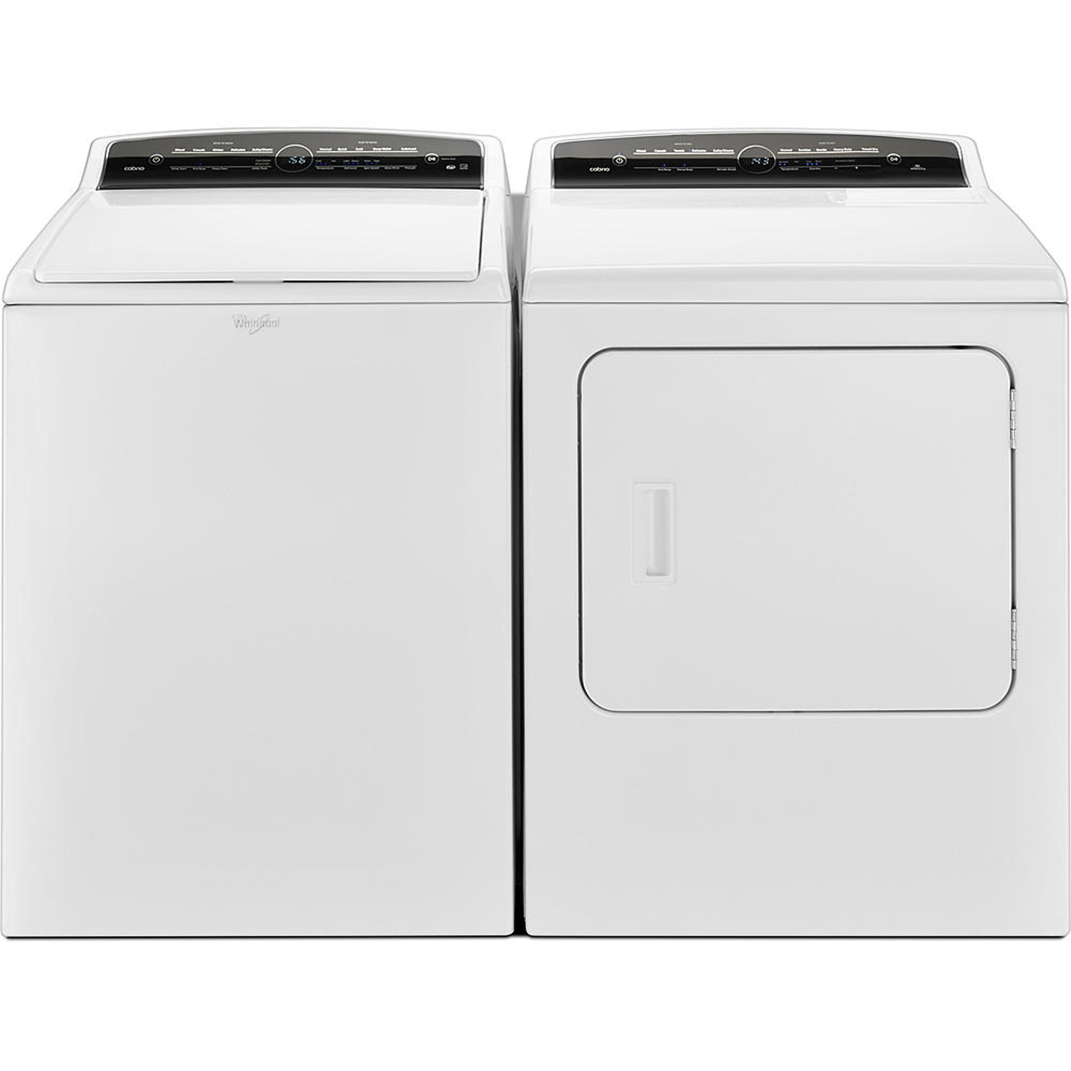 4.8 cu. ft Top Load Washer & 7.0 cu. ft. High-Efficiency Electric Dryer -