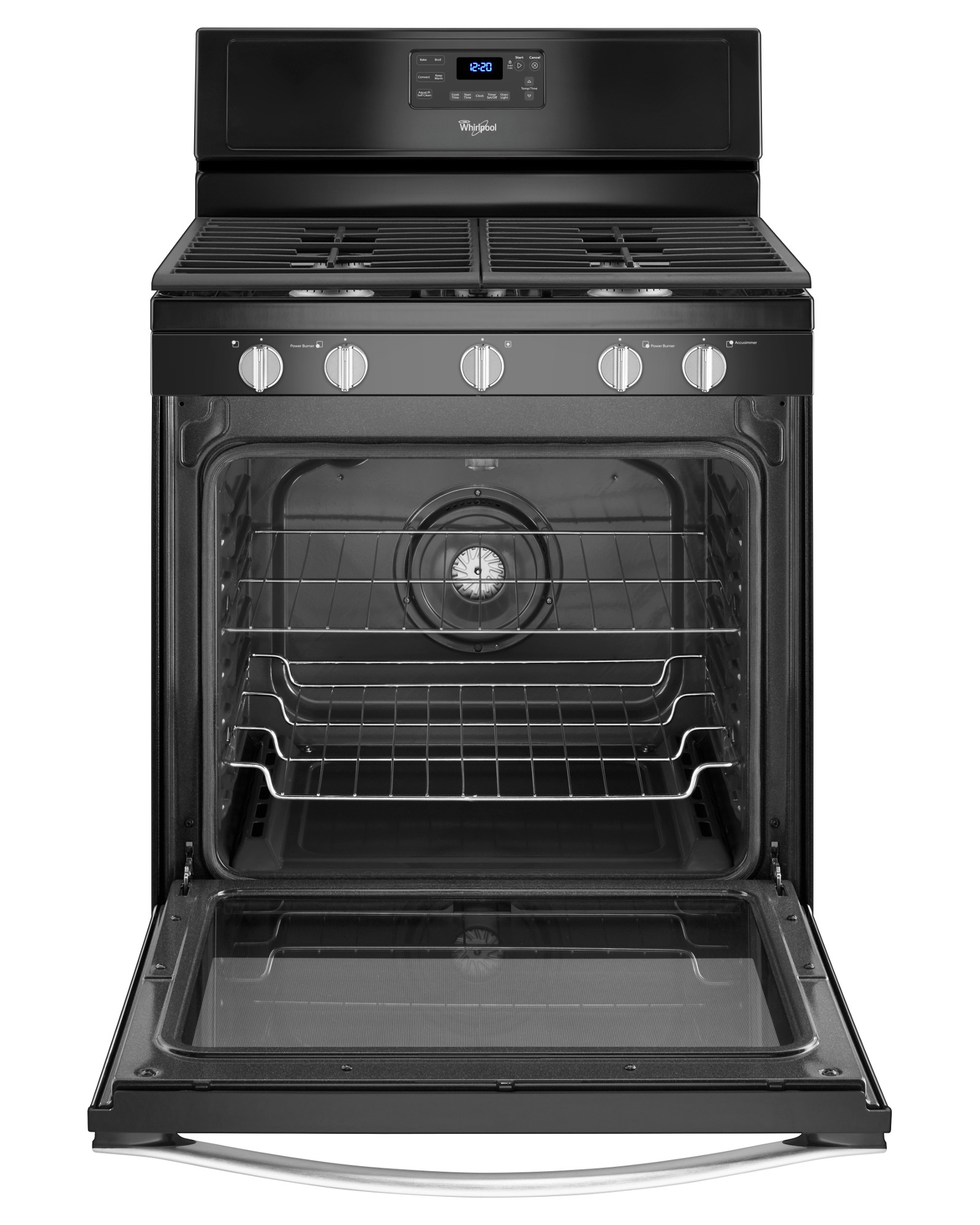 Whirlpool WFG540H0EE 5.8 cu. ft. Freestanding Gas Range - Black Ice