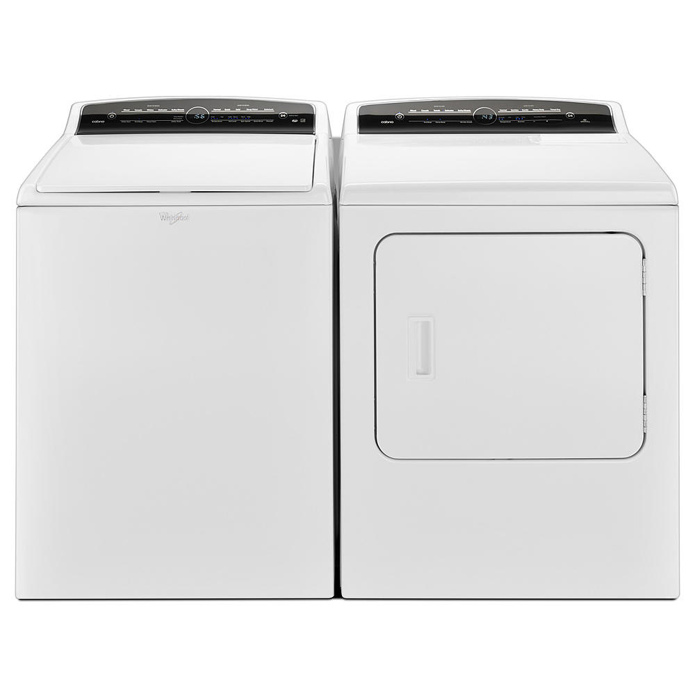 Whirlpool Cabrio®  HE Top Load Washer & Electric Dryer