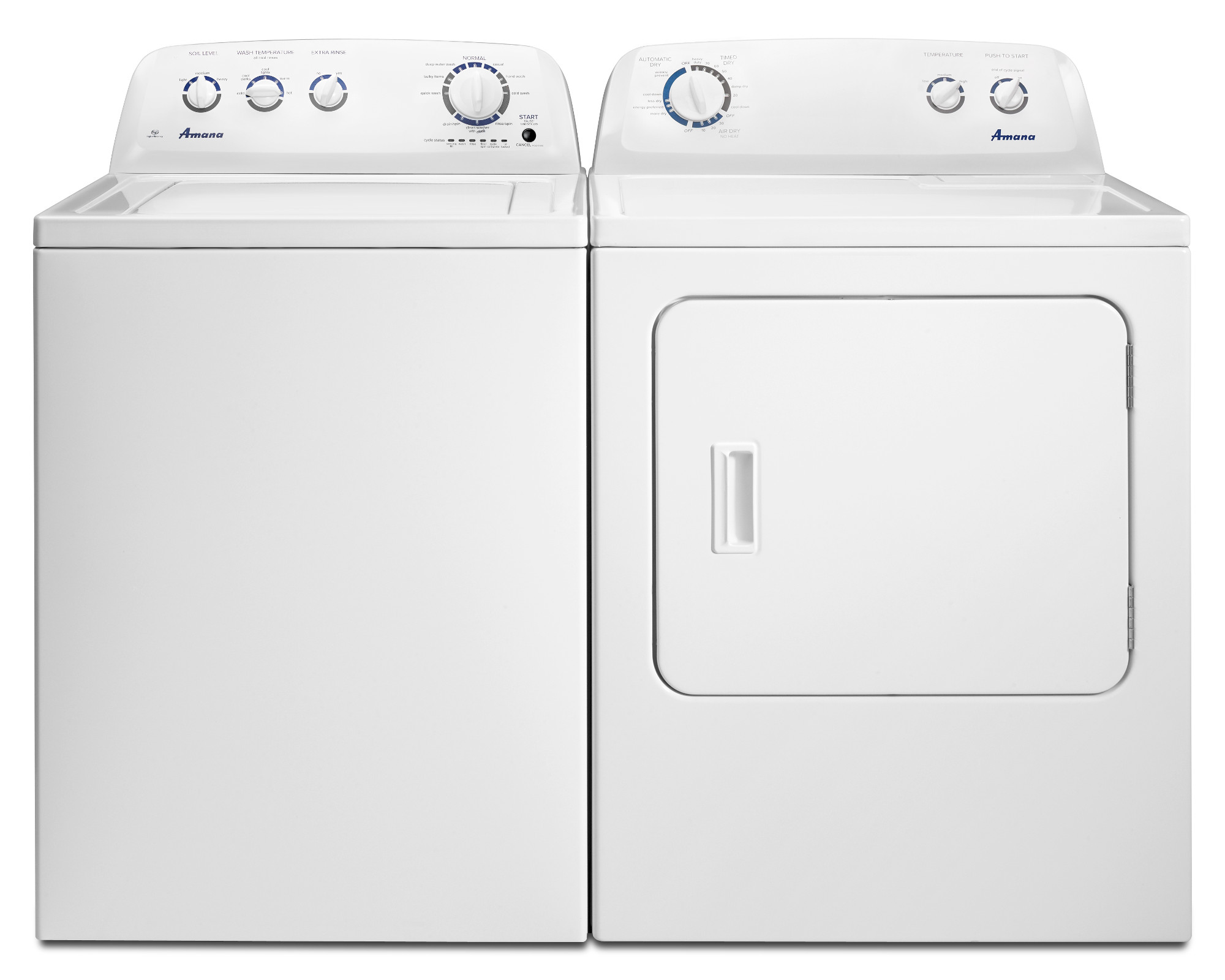 Amana 3.5 cu. ft. High-Efficiency Washer - White