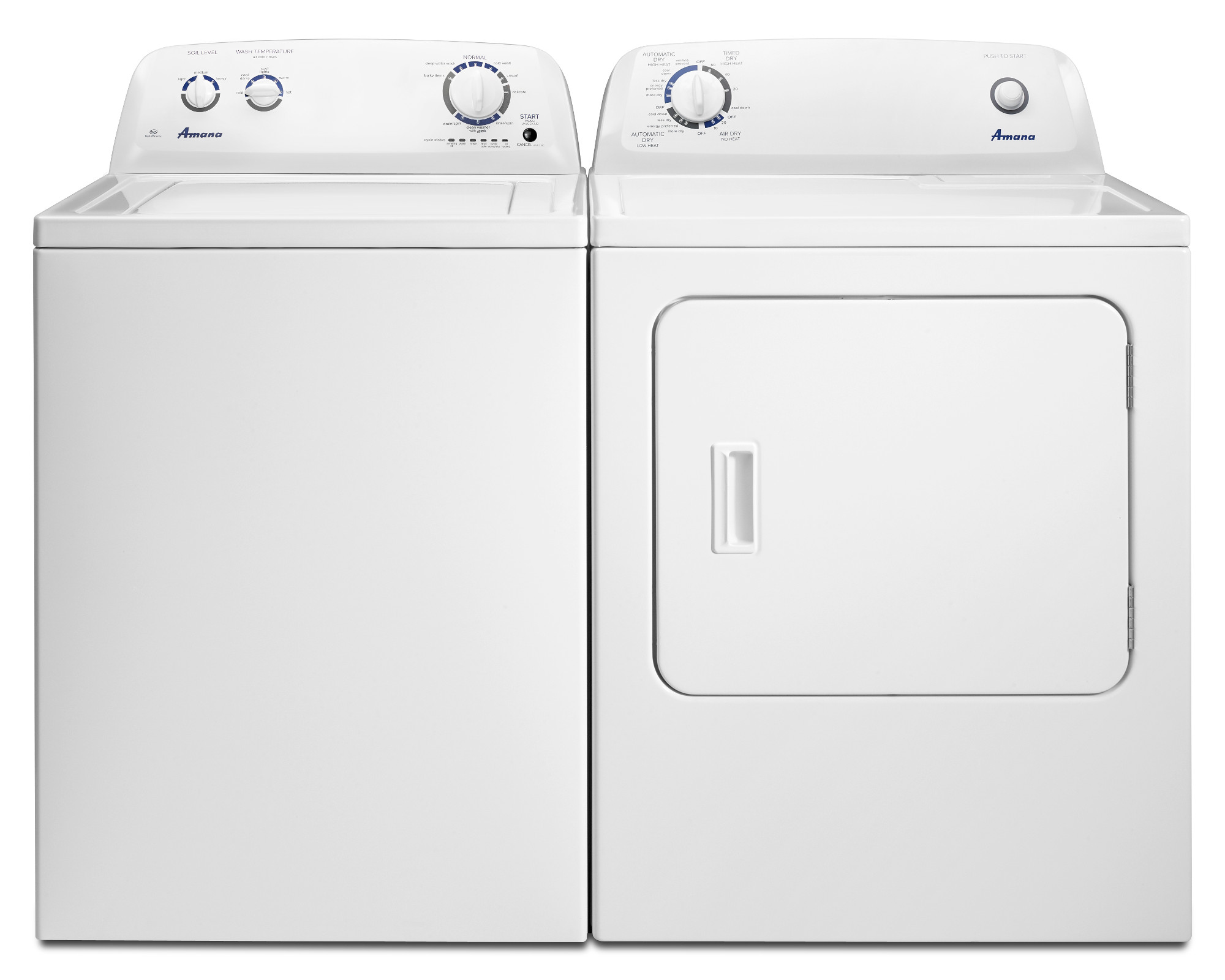 Amana 7.0 cu. ft. Gas Dryer - White