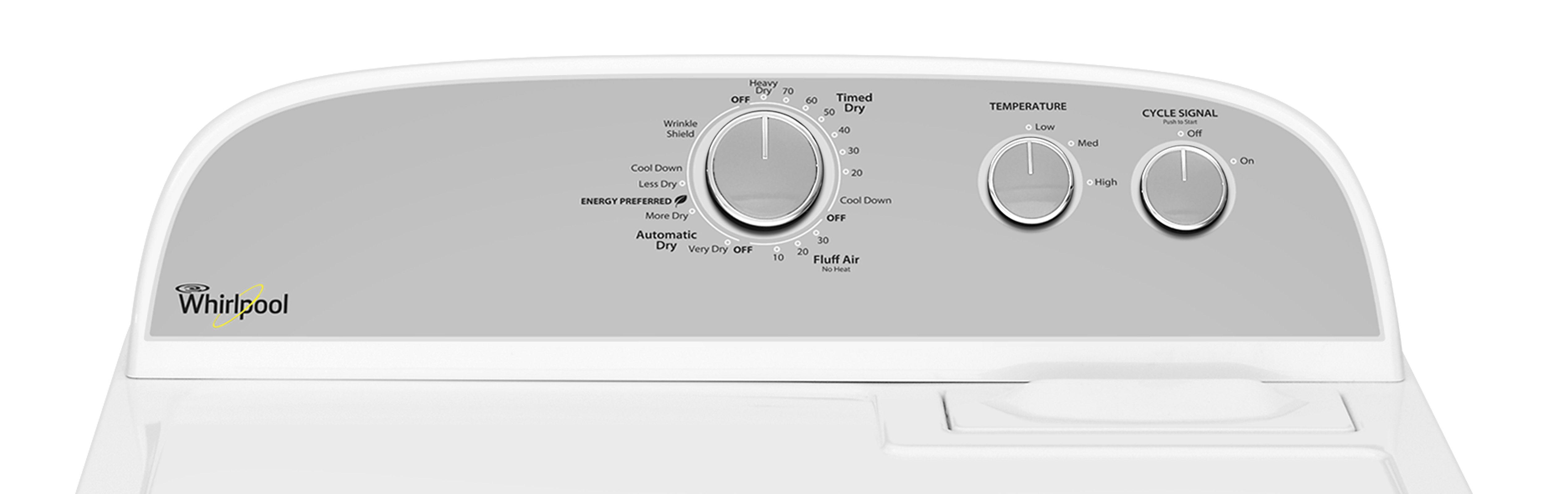 Whirlpool WED4815EW 7.0 cu. ft. Electric Dryer - White