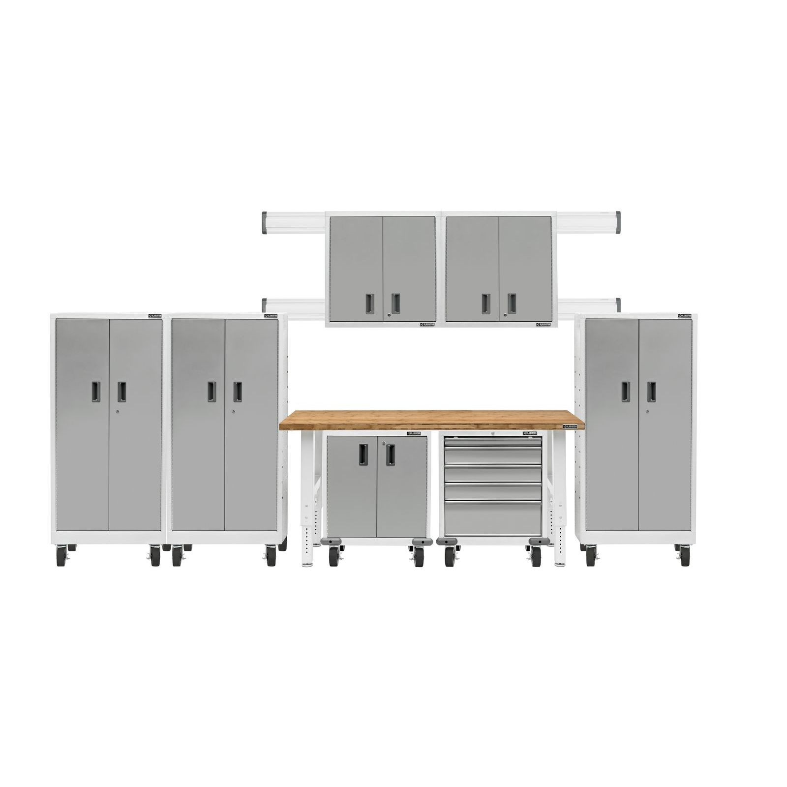 Gladiator Premier 8-Piece Garage Storage System GAPK06P5DW