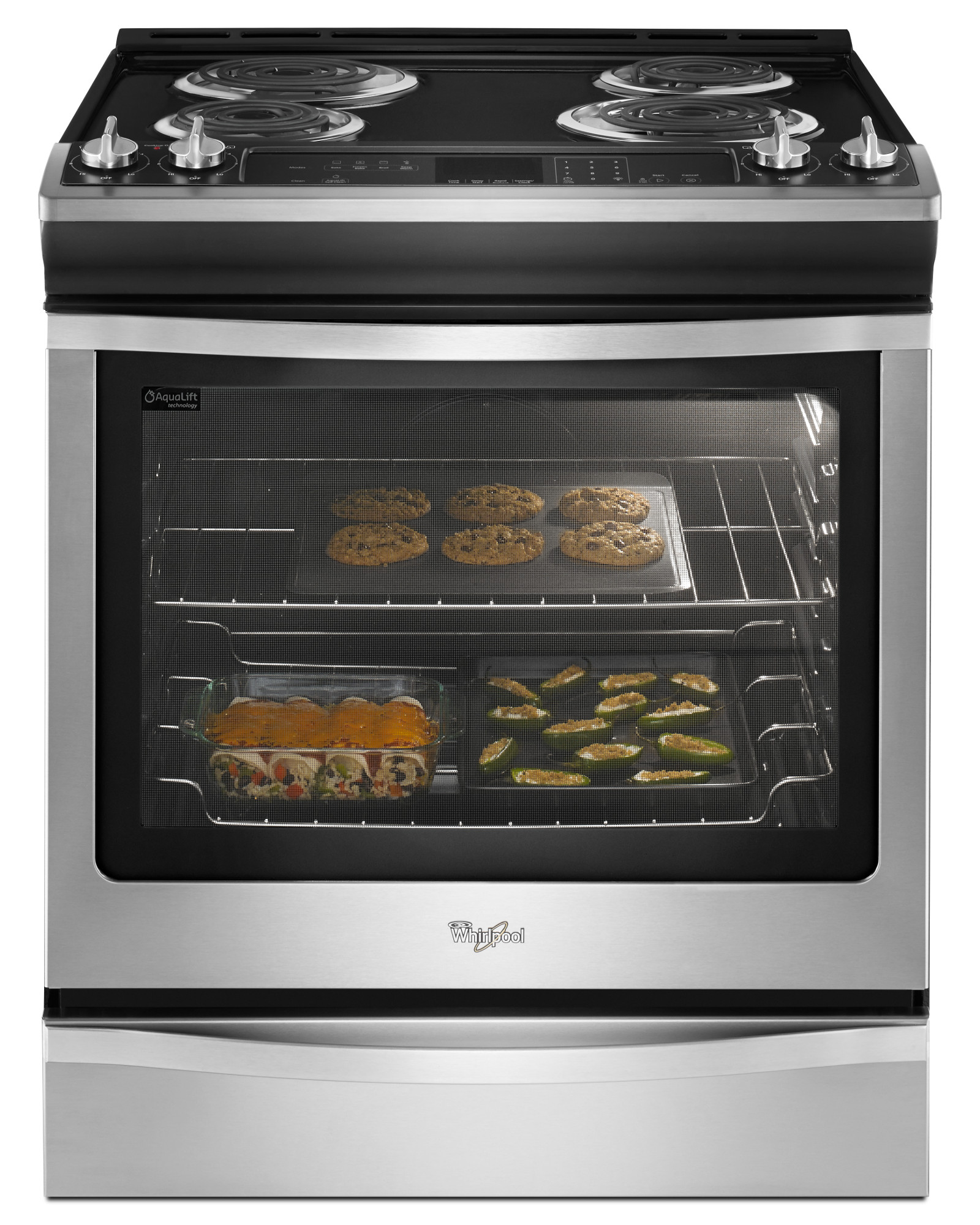 Whirlpool WEC530H0DS 6.2 cu. ft. Slide-In Electric Range - Stainless Steel