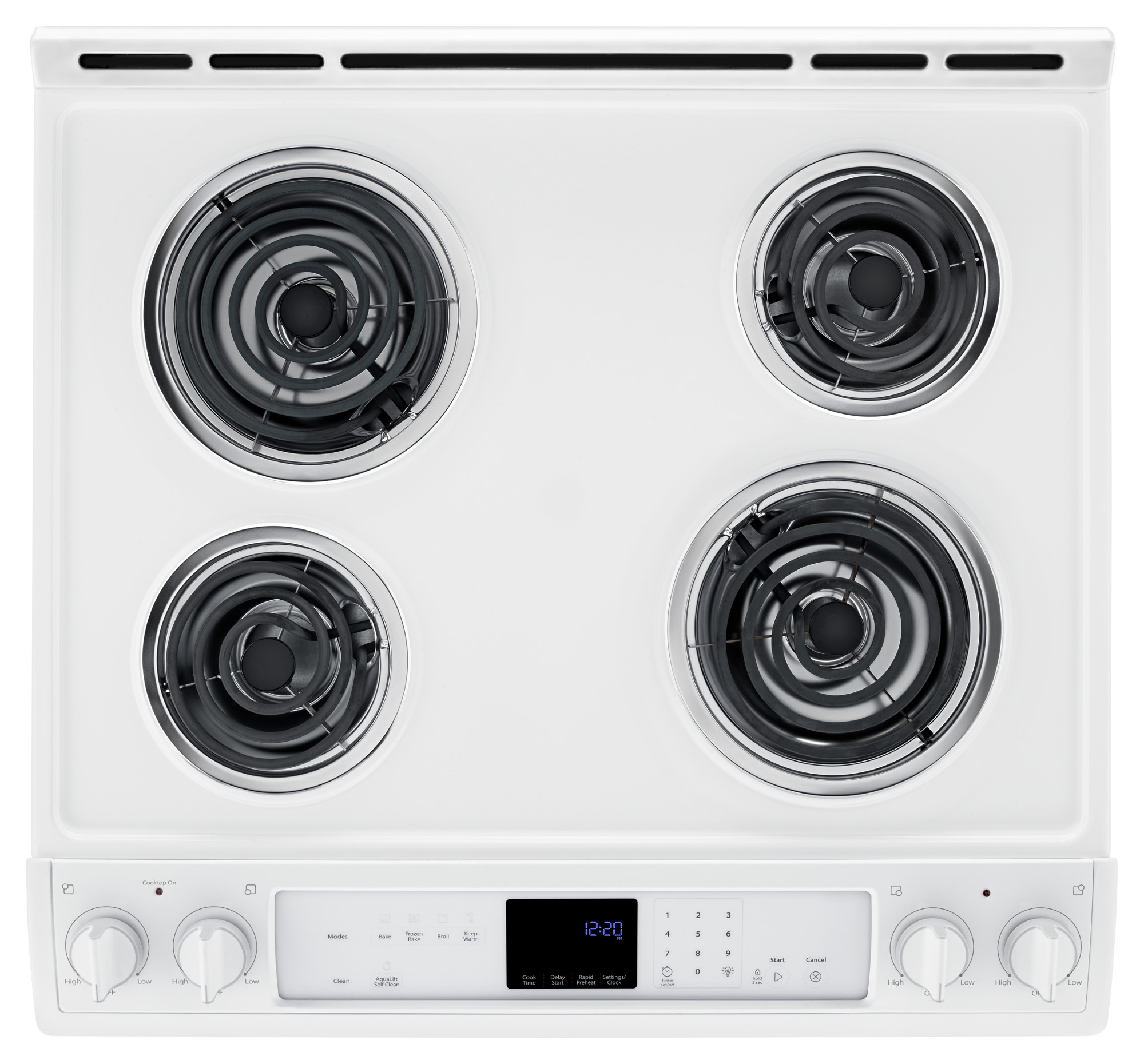 Whirlpool WEC530H0DW 6.2 cu. ft. Slide-In Electric Range w/Front Controls - White