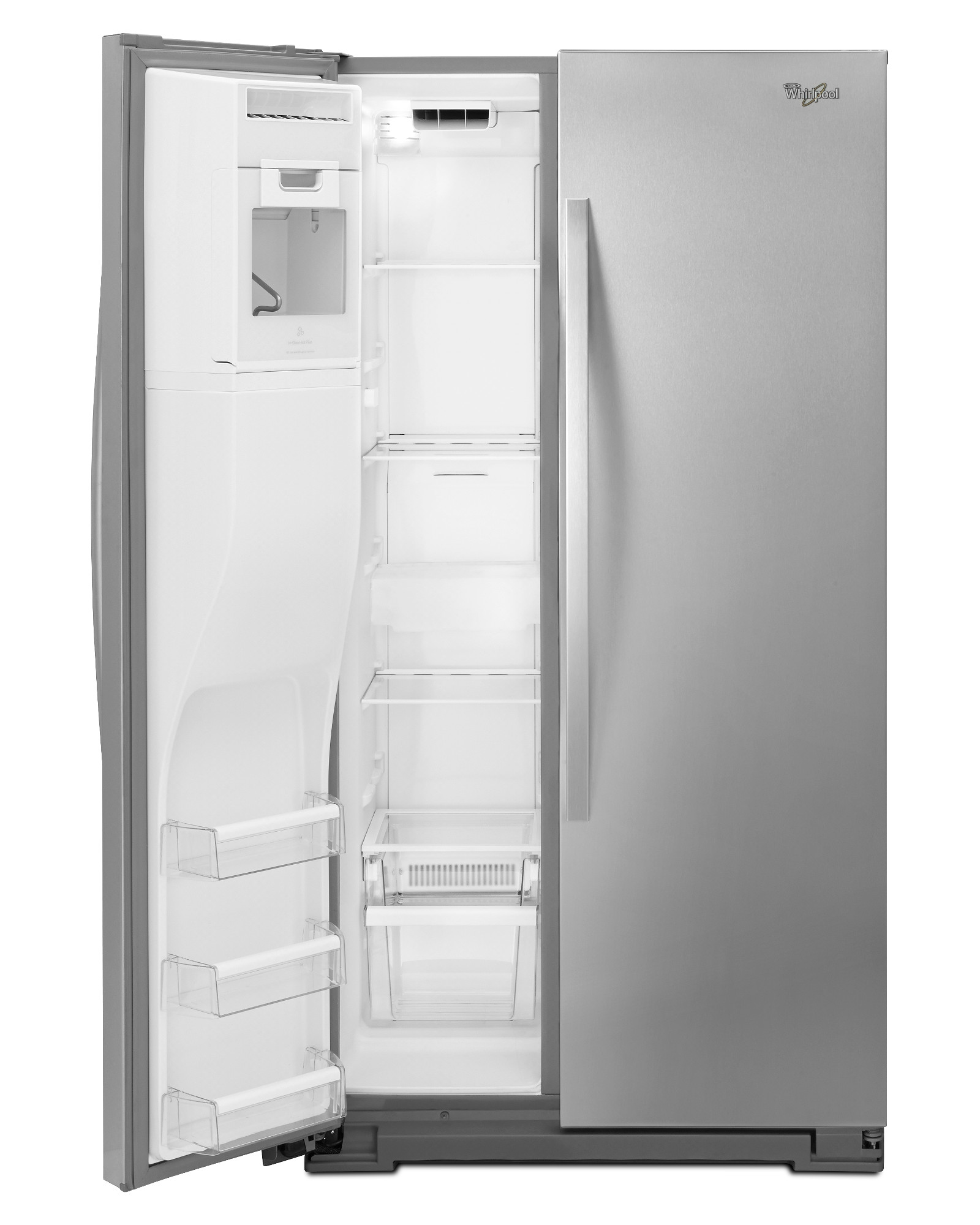 Whirlpool 25.6 cu. ft. Side-by-Side Refrigerator - Stainless Steel