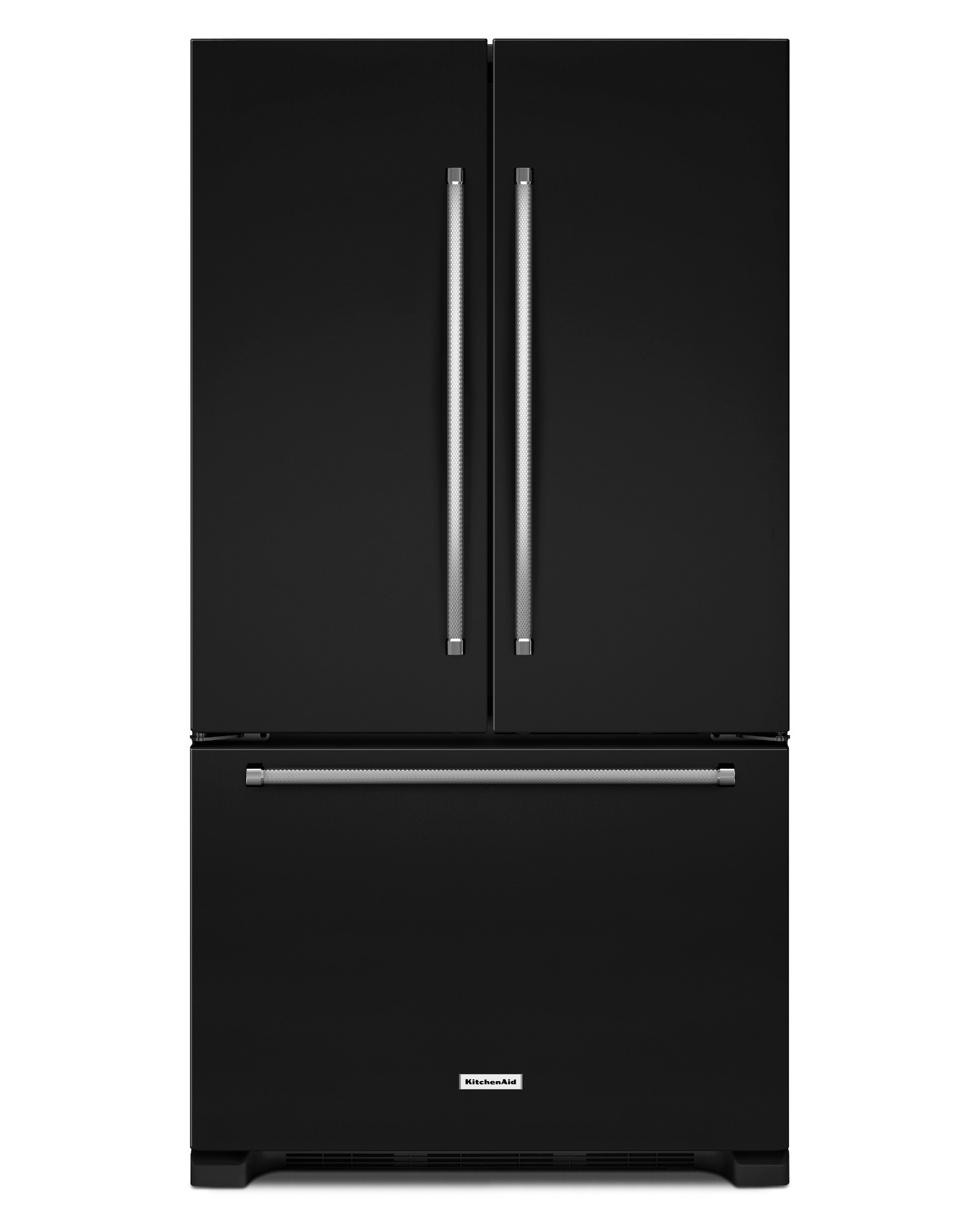 KitchenAid KRFC300EBL 20 cu. ft. Counter-Depth French Door Refrigerator - Black