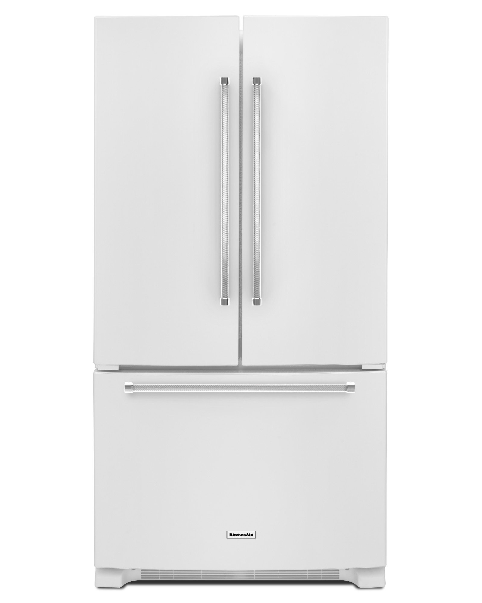 KitchenAid KRFC300EWH 20 cu. ft. Counter-Depth French Door Refrigerator - White