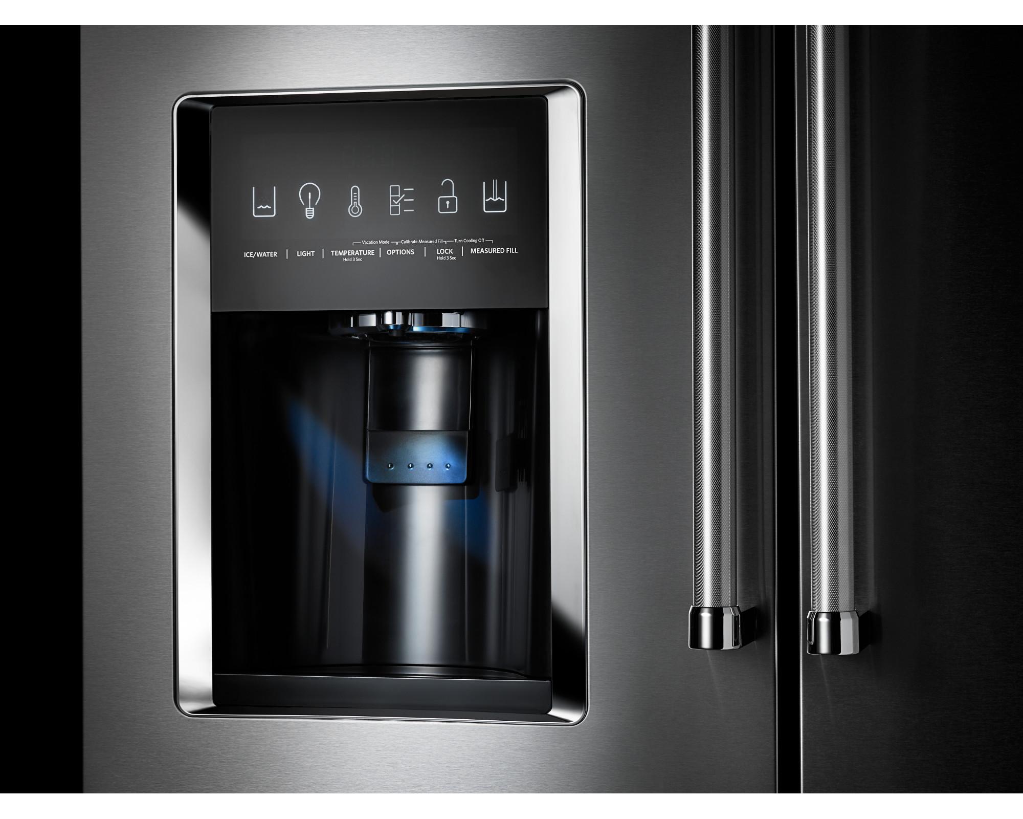 KitchenAid KRMF606ESS 25.8 cu. ft. Multi-Door Freestanding Refrigerator - Stainless Steel