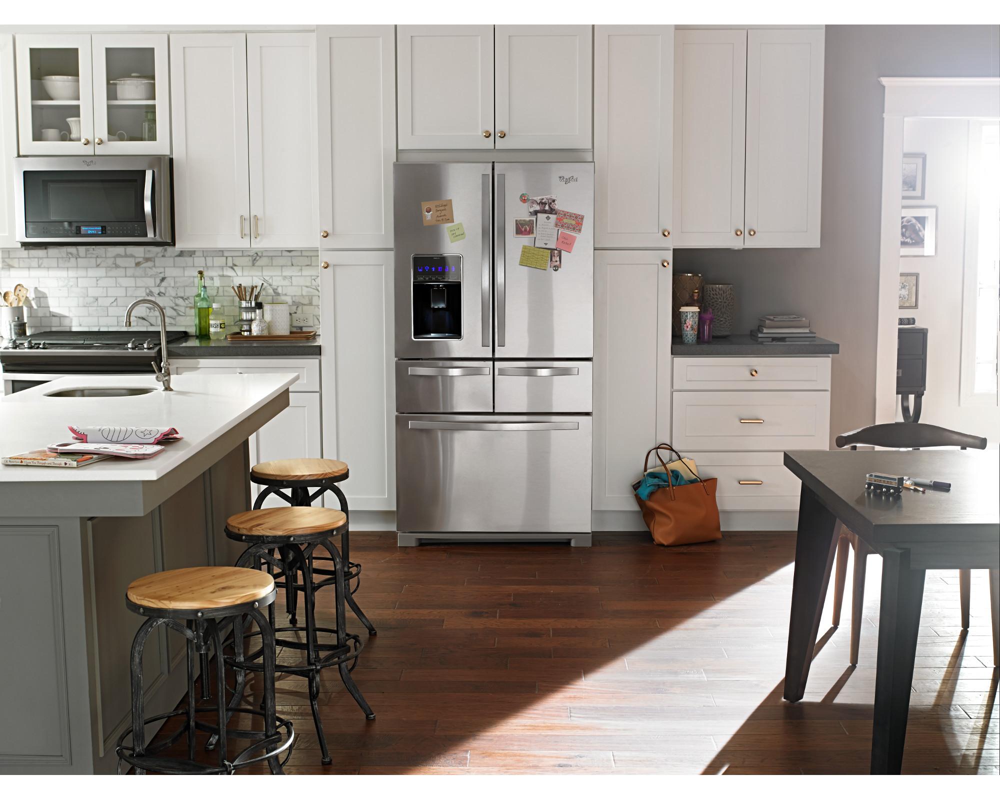 Whirlpool WRV996FDEM 26 cu. ft. French Door Bottom Freezer Refrigerator - Stainless Steel