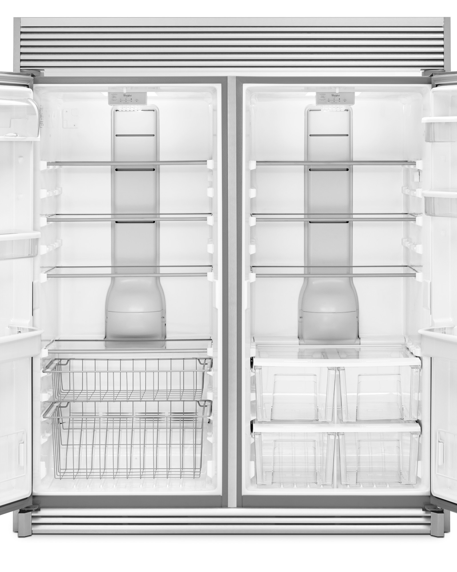 Whirlpool WSR57R18DM 18 cu. ft. SideKicks® Freezerless Refrigerator - Stainless Steel