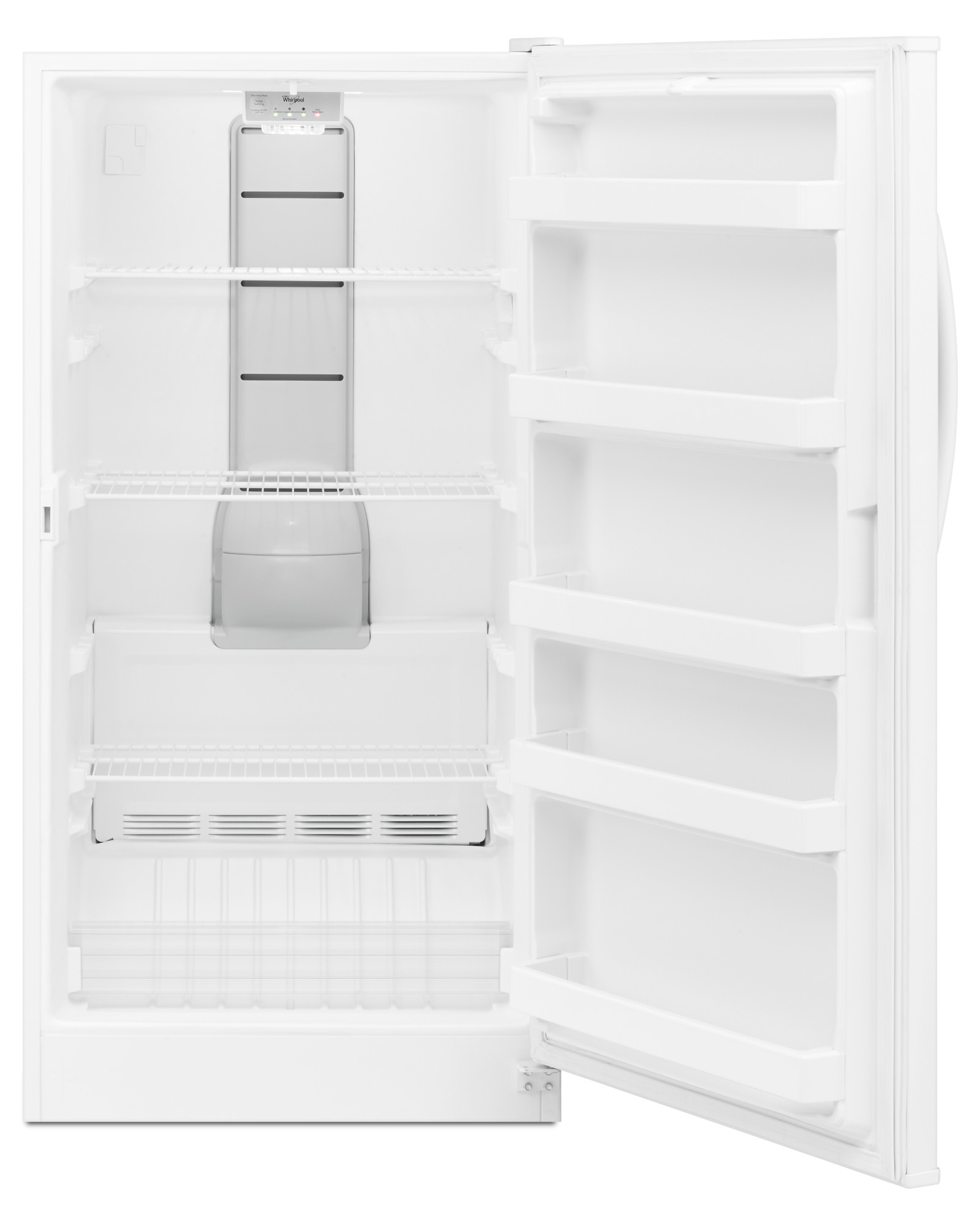 Whirlpool WZF56R16DW 16 cu. ft. Upright Freezer w/ LED Interior Lighting - White