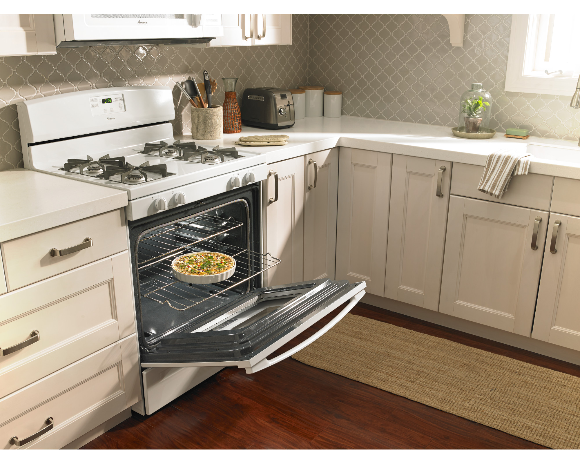 Amana 5.0 cu. ft. Gas Range - White