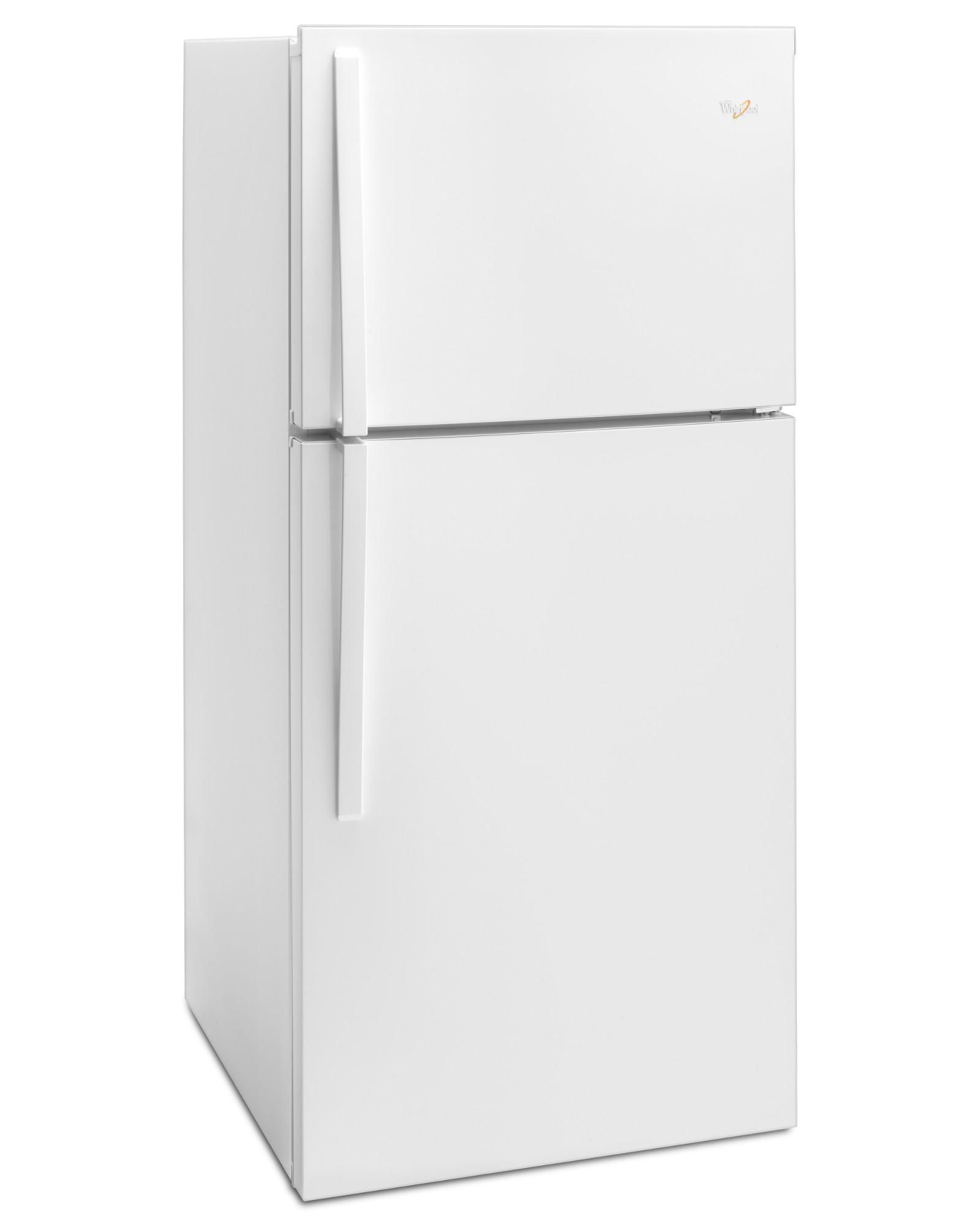 Whirlpool WRT519SZDW 19 cu. ft. Top Freezer Refrigerator w/ LED Interior Lighting - White
