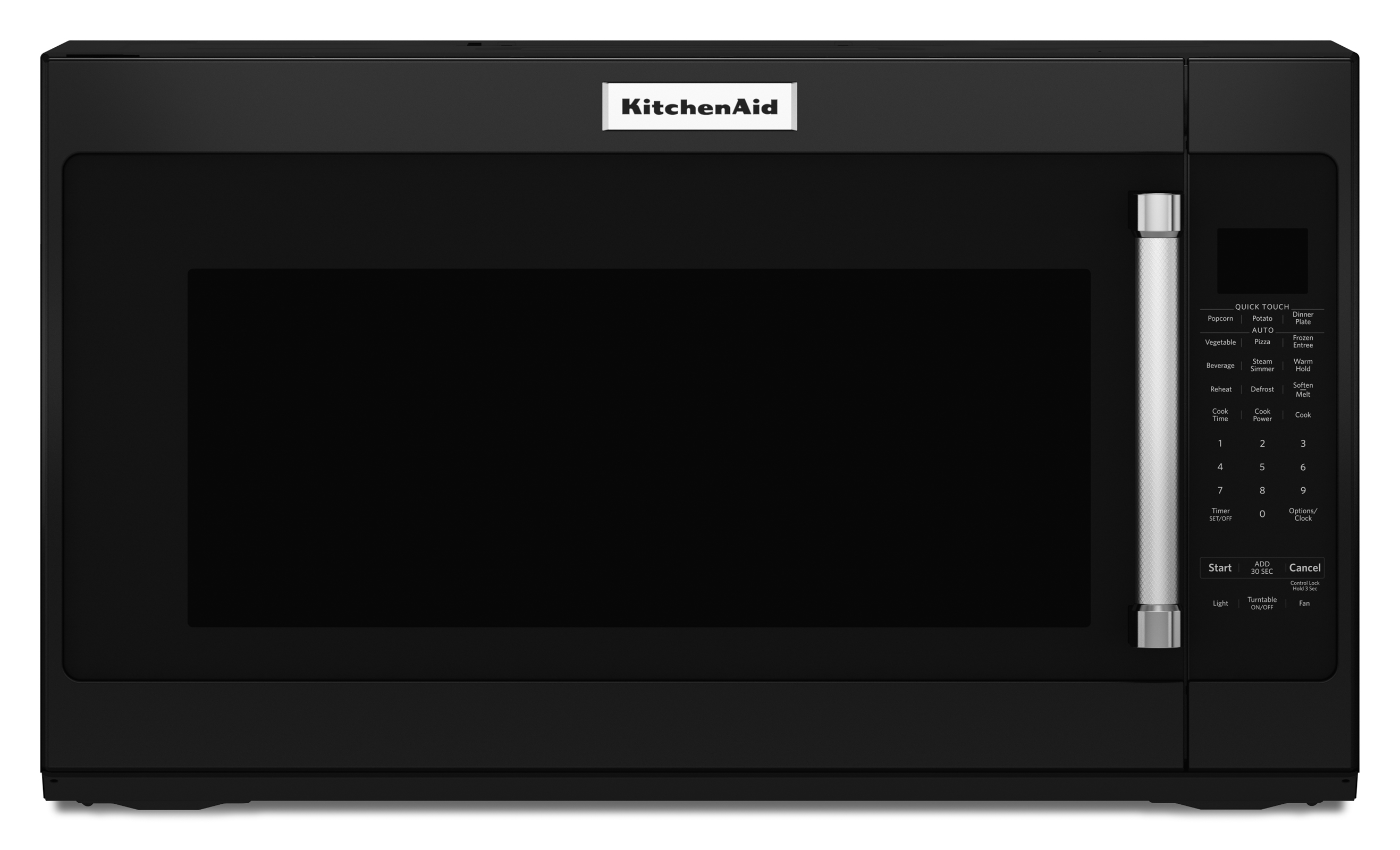 KitchenAid KMHS120EBL 2.0 cu. ft. 1000-Watt Microwave Oven - Black