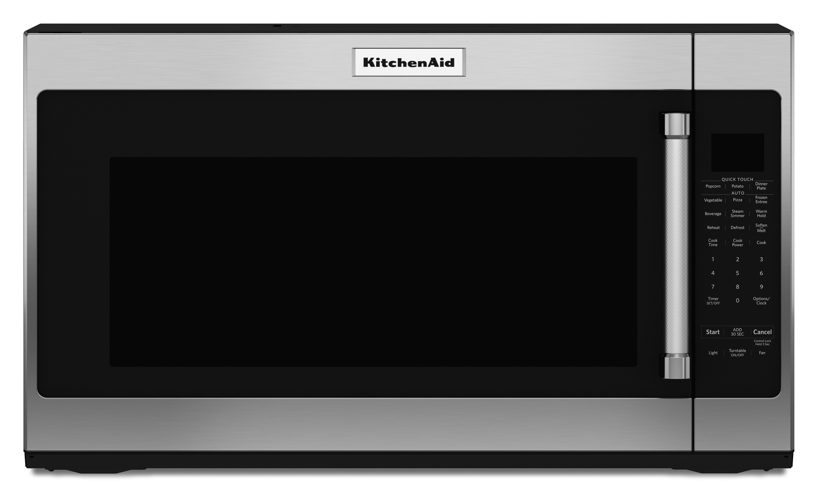 KitchenAid KMHS120ESS 2.0 cu. ft. 1000-Watt Microwave Oven - Stainless Steel
