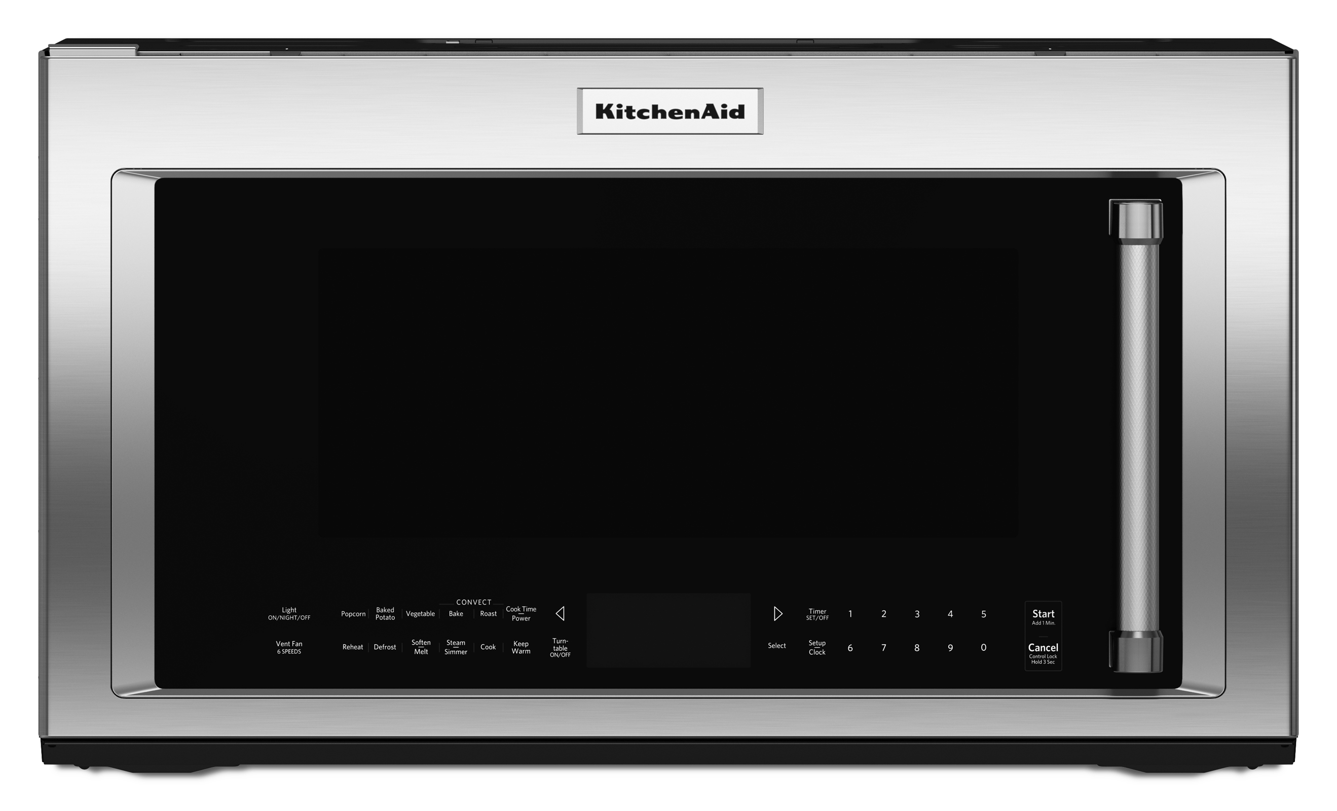 KitchenAid KMHC319ESS 1.1.9 cu. ft. 1000W Convection Microwave Oven - Stainless Steel