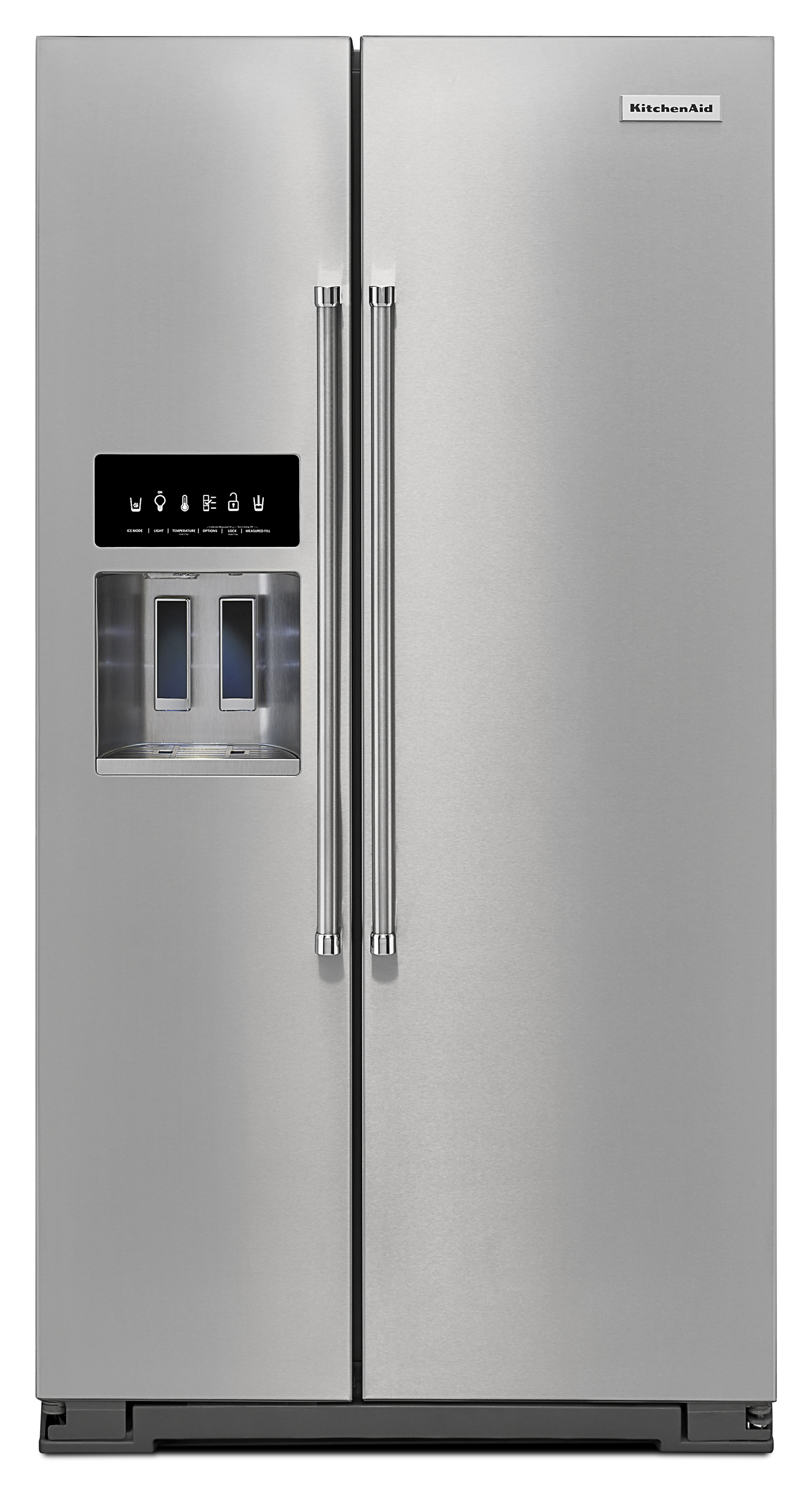 KitchenAid KRSF505ESS 24.8 cu. ft. Side-by-Side Refrigerator - Stainless Steel
