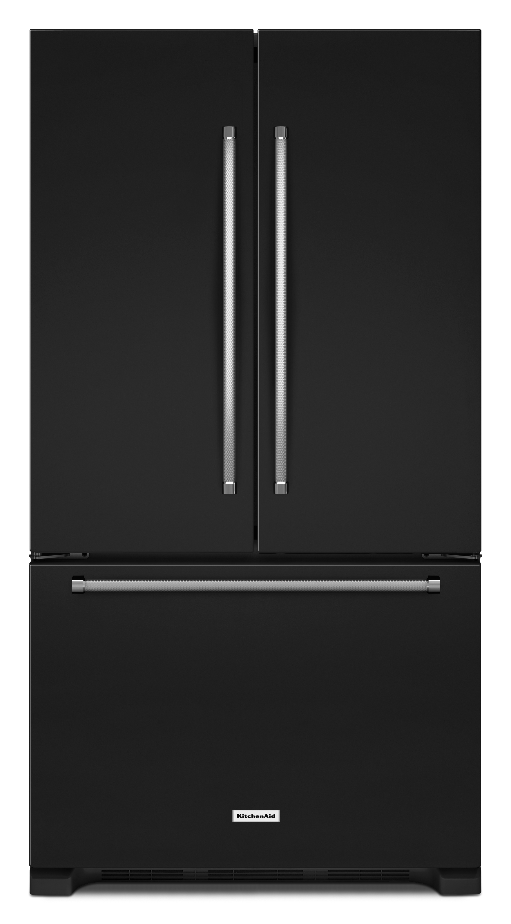 KitchenAid KRFF305EBL 25 cu. ft. French Door Refrigerator - Black