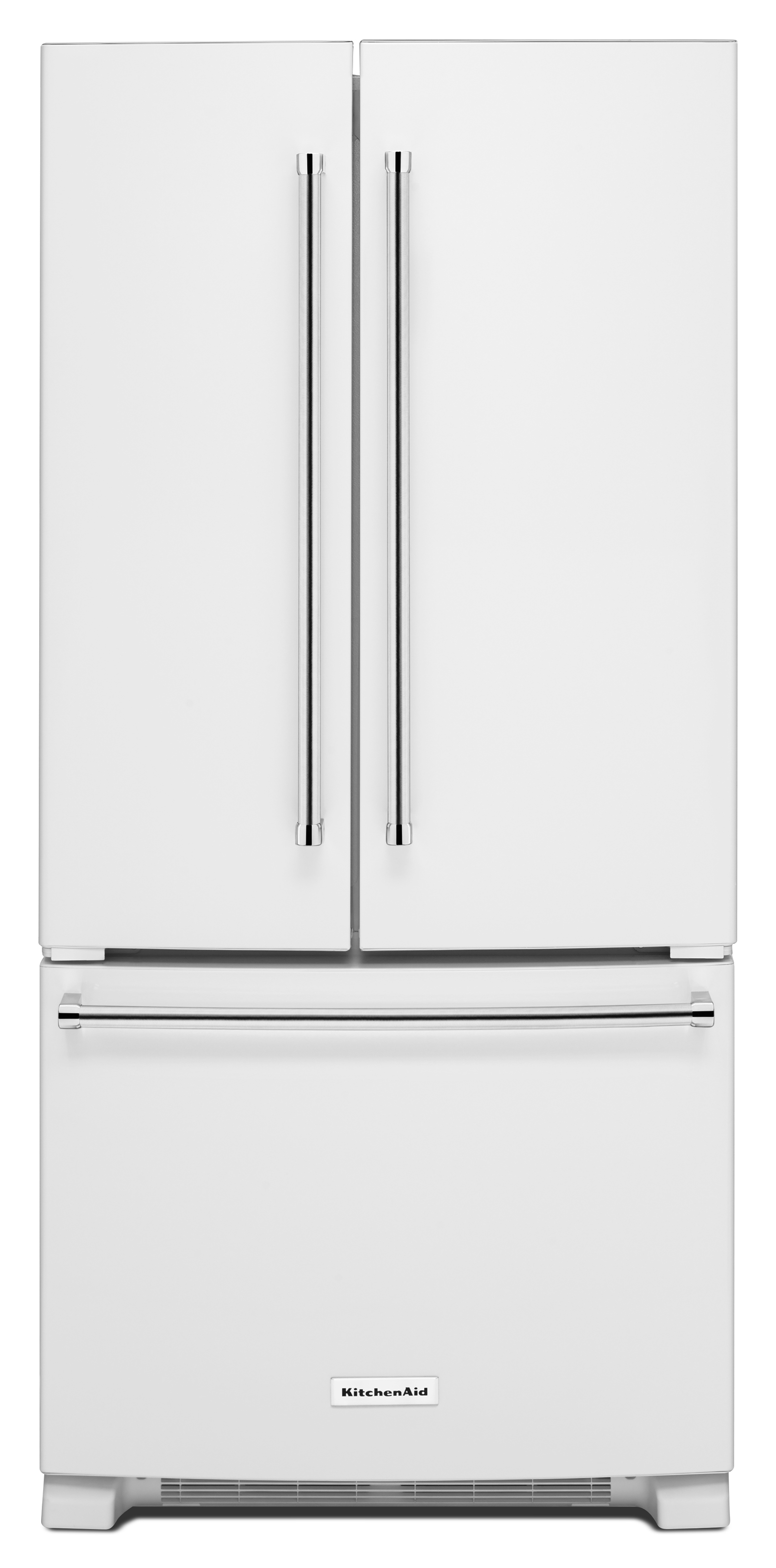 KitchenAid KRFF302EWH 22 cu. ft. French Door Refrigerator - White