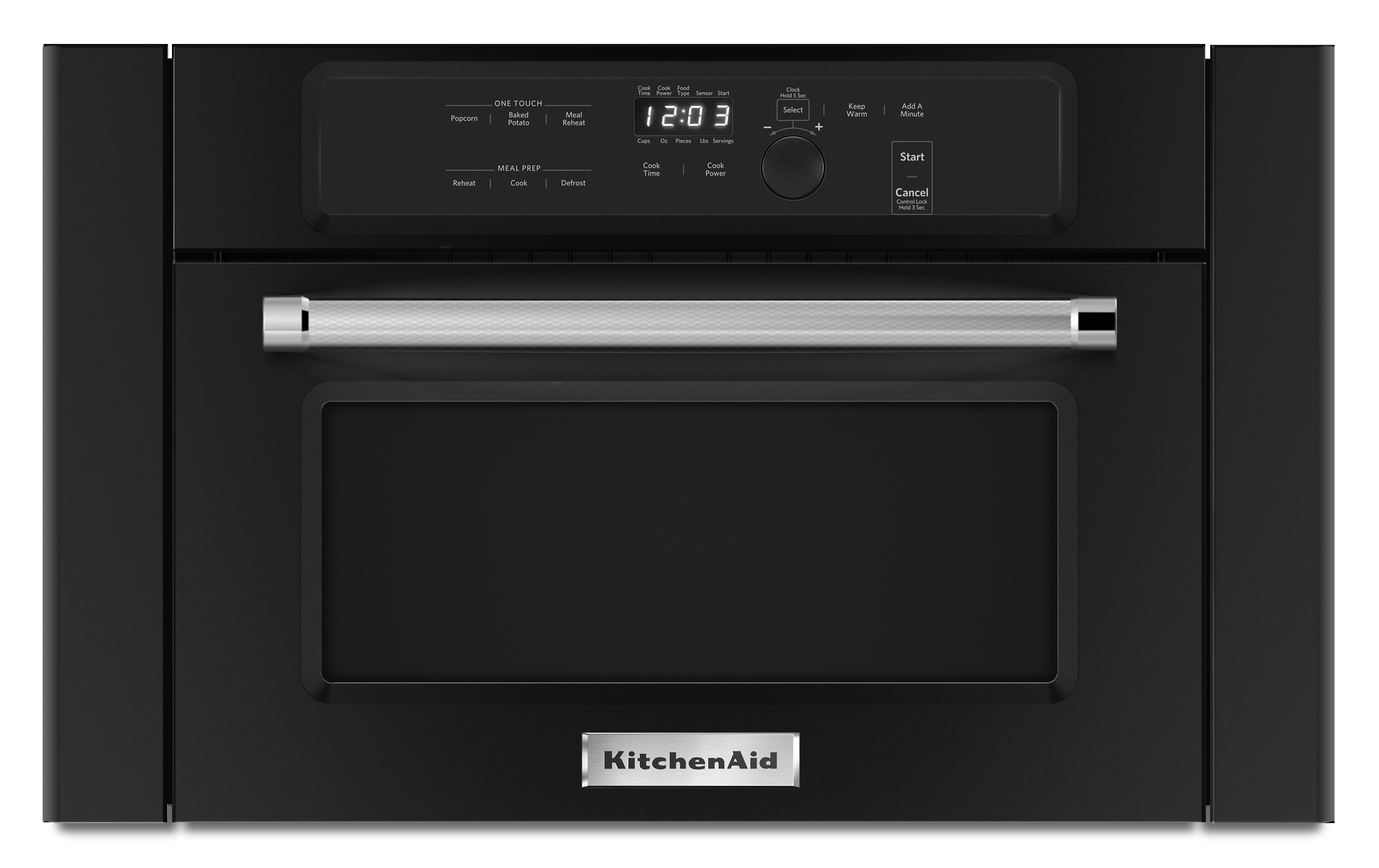 KitchenAid KMBS104EBL 24 Over-the-Range Built-In Microwave - Black