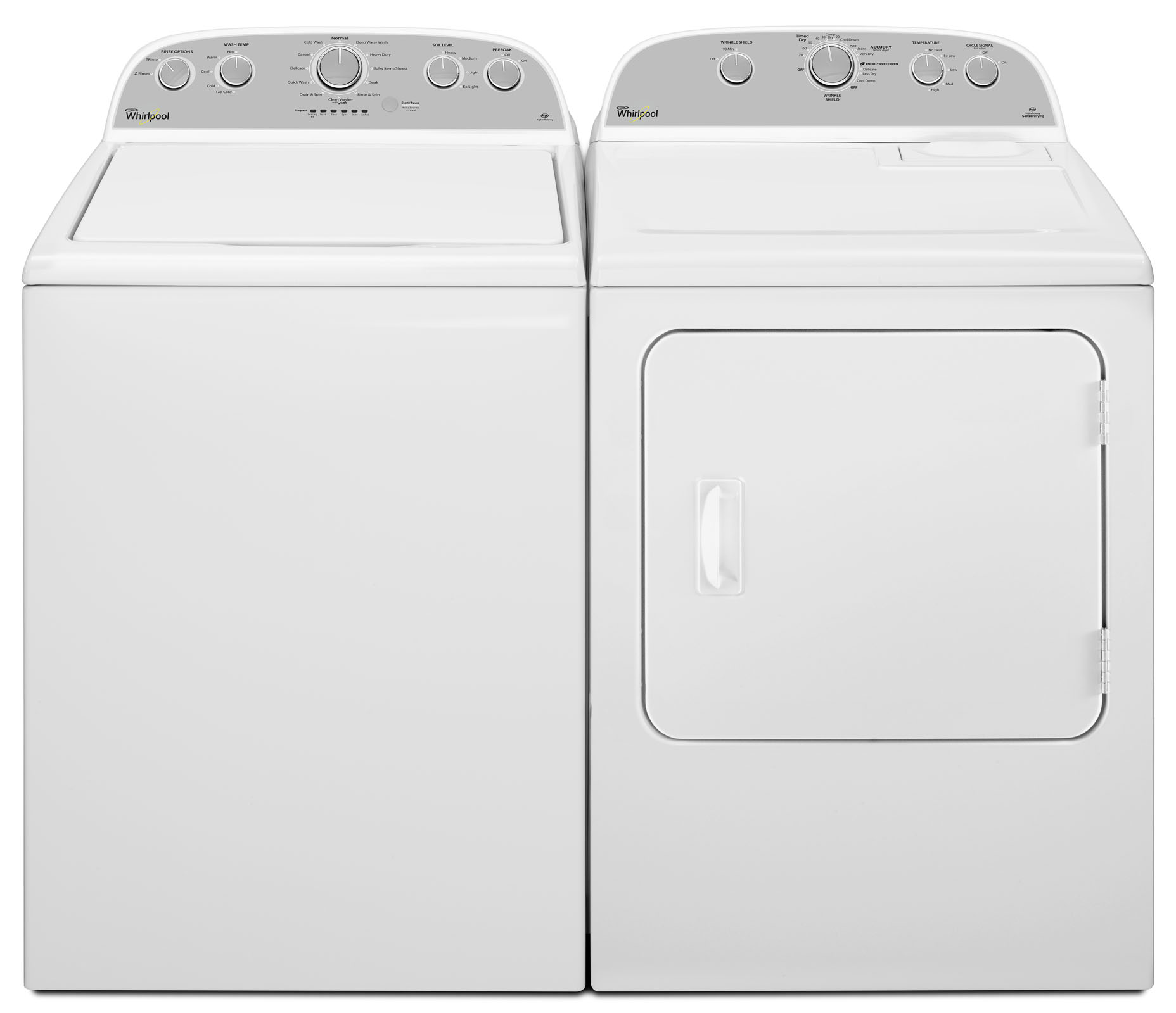 Whirlpool WED4975EW 7.0 cu. ft. Electric Long Vent Dryer - White