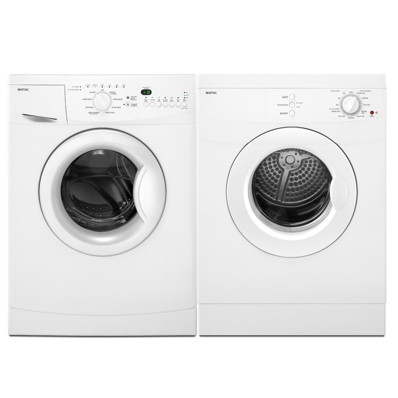 Maytag 2.0 cu. ft. Compact Front-Load Washer - White