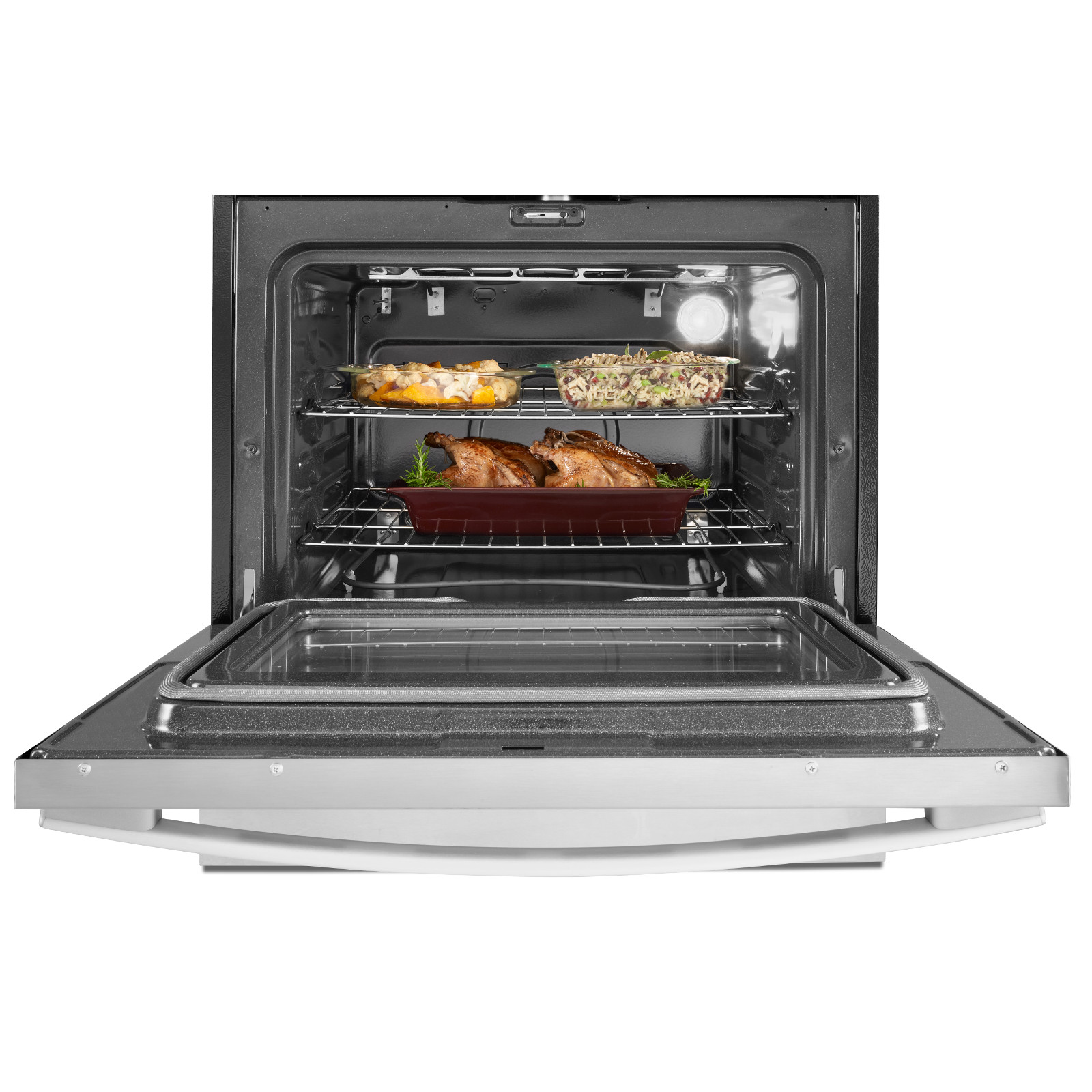 Whirlpool 4.5 cu. ft. Drop-In Electric Range - Stainless Steel