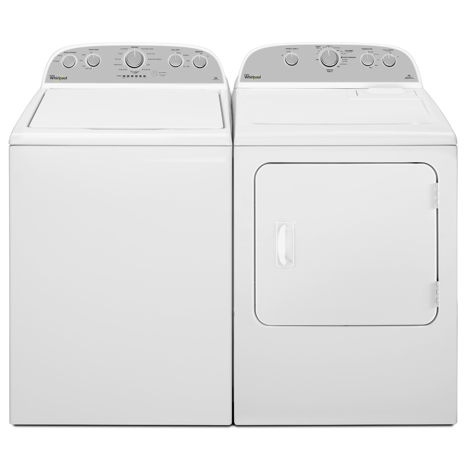 Whirlpool WED4995EW 5.9 cu. ft. Electric Dryer - White