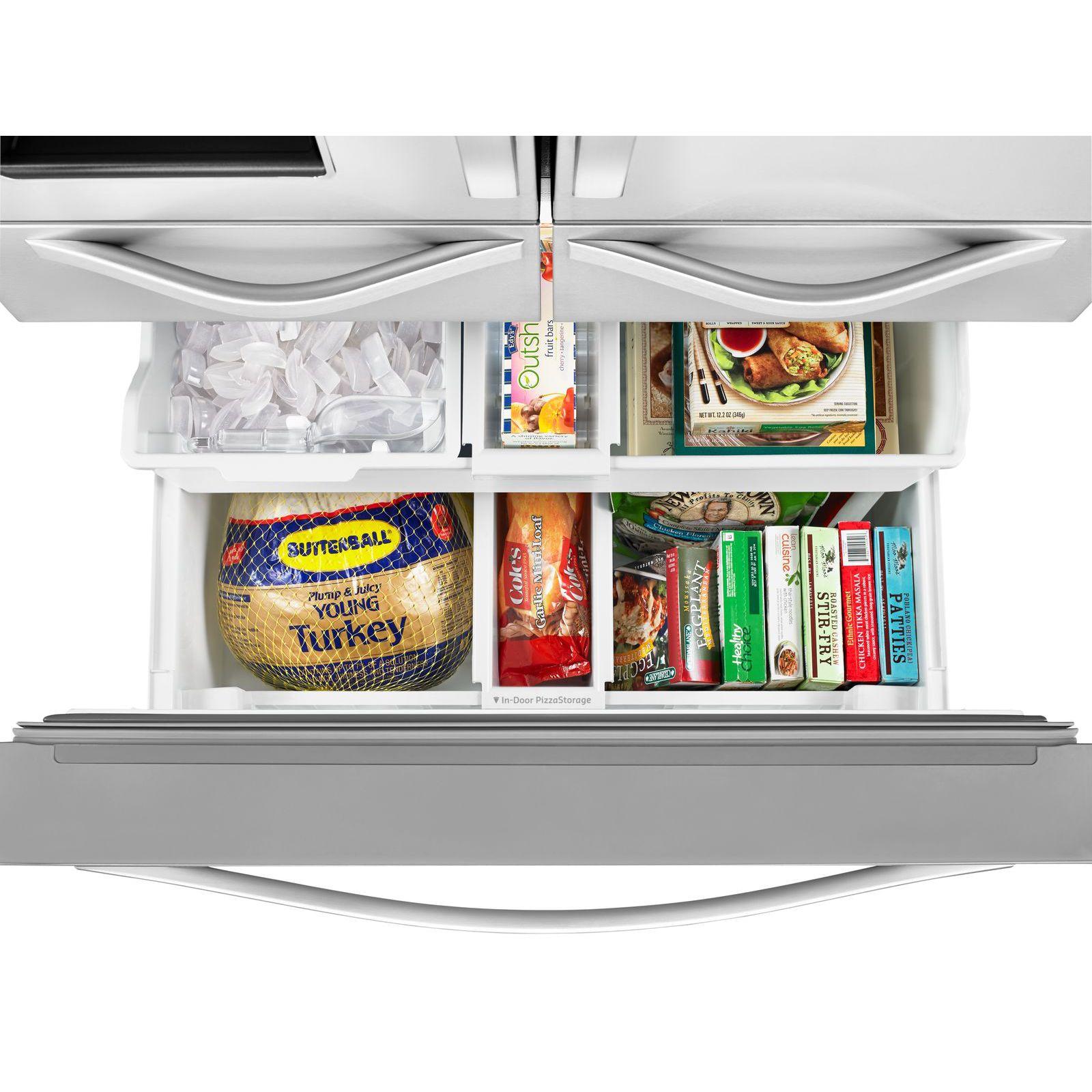 Whirlpool WRV986FDEM 26 cu. ft. French Door Bottom Freezer Refrigerator - Stainless Steel