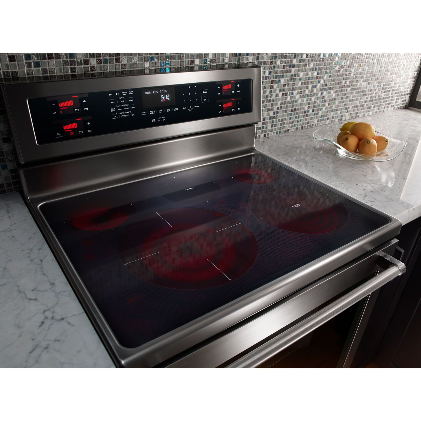 KitchenAid KFES530ESS 6.4 cu. ft. Freestanding Electric Range - Stainless Steel