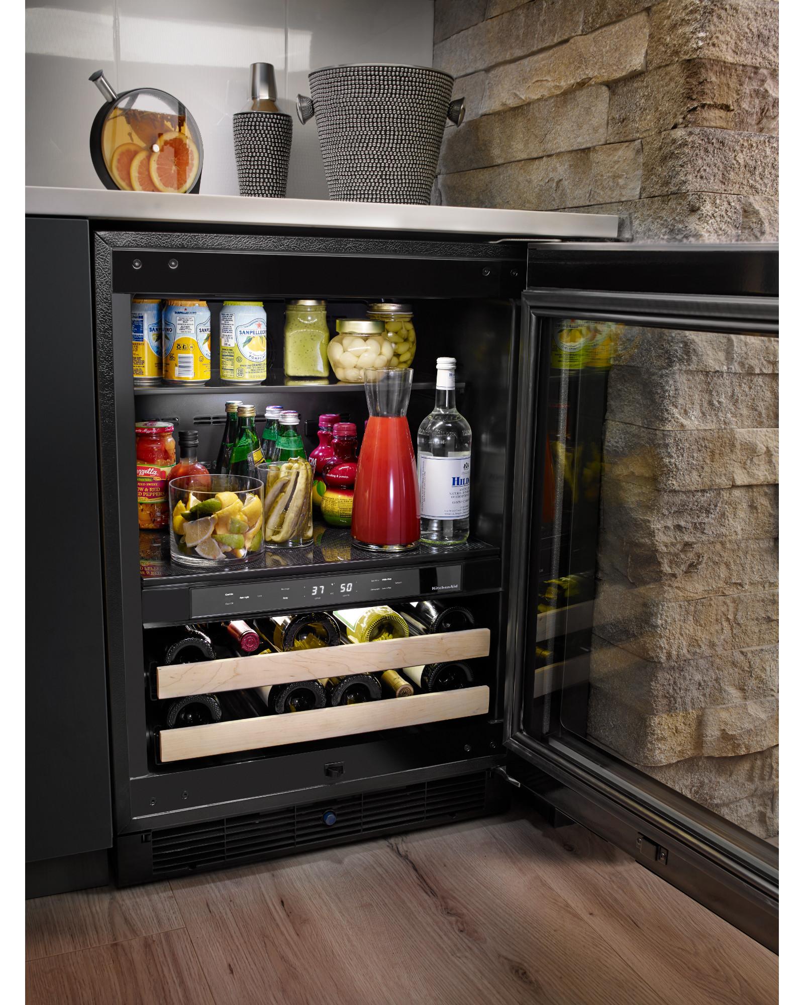 KitchenAid KUBR204ESB 4.8 cu. ft.  Beverage Center - Stainless Steel