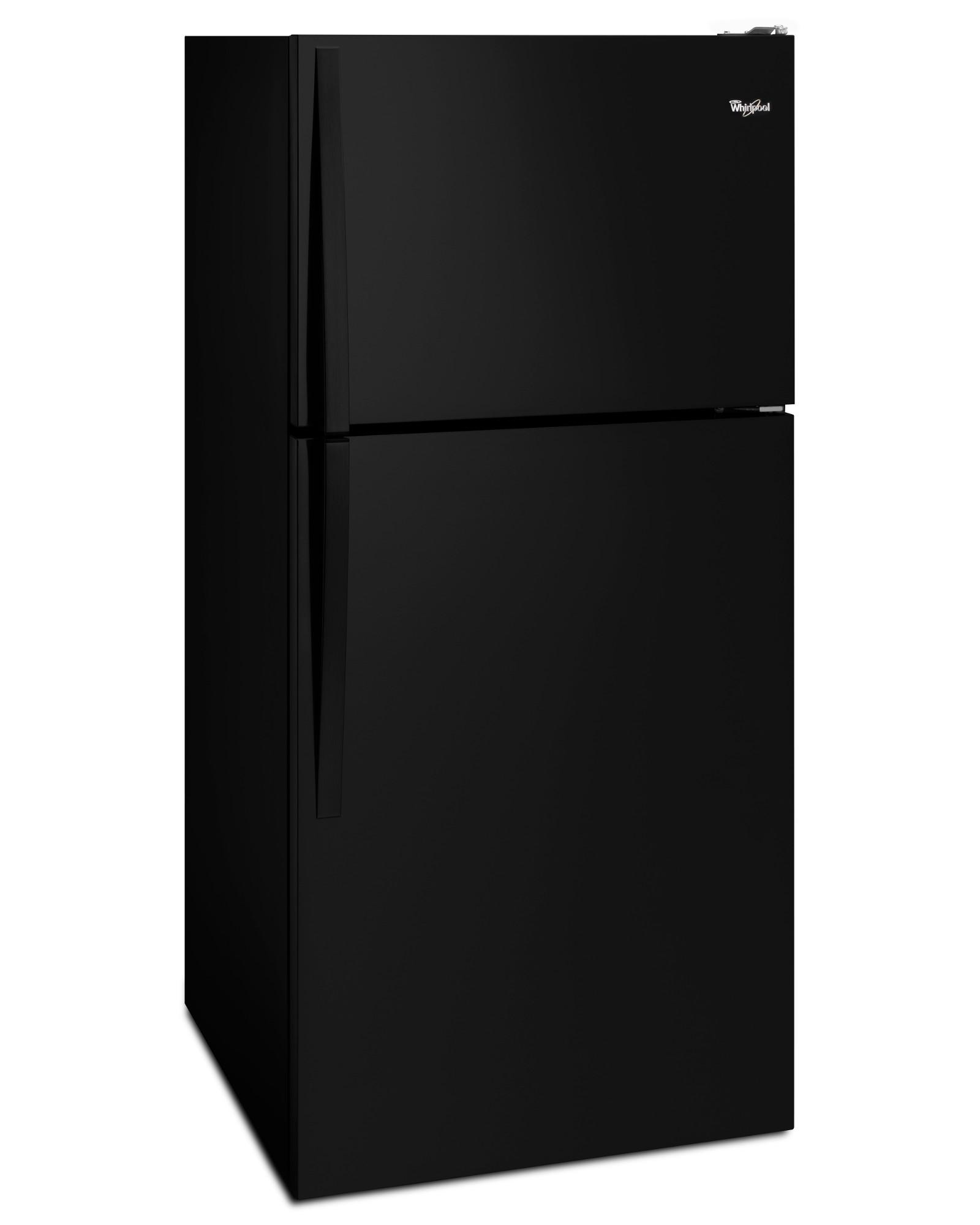 Whirlpool WRT108FZDB 18 cu. ft. Top Freezer Refrigerator  - Black