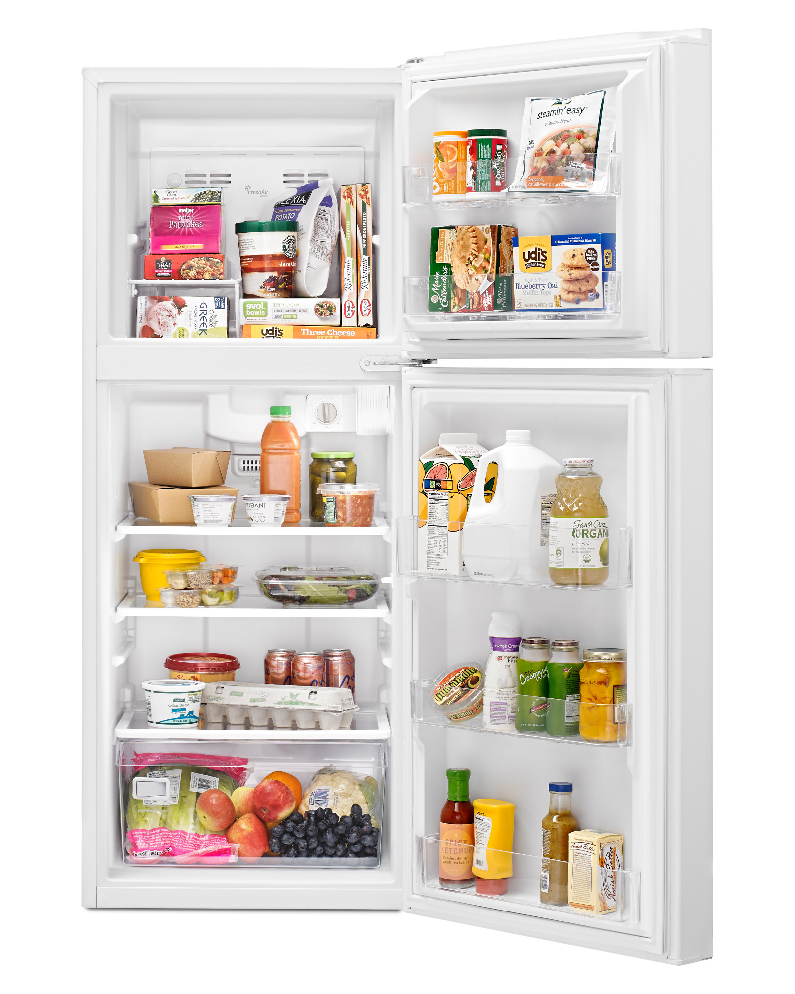 Whirlpool WRT111SFDW 11 cu. ft. Top Freezer Refrigerator - White