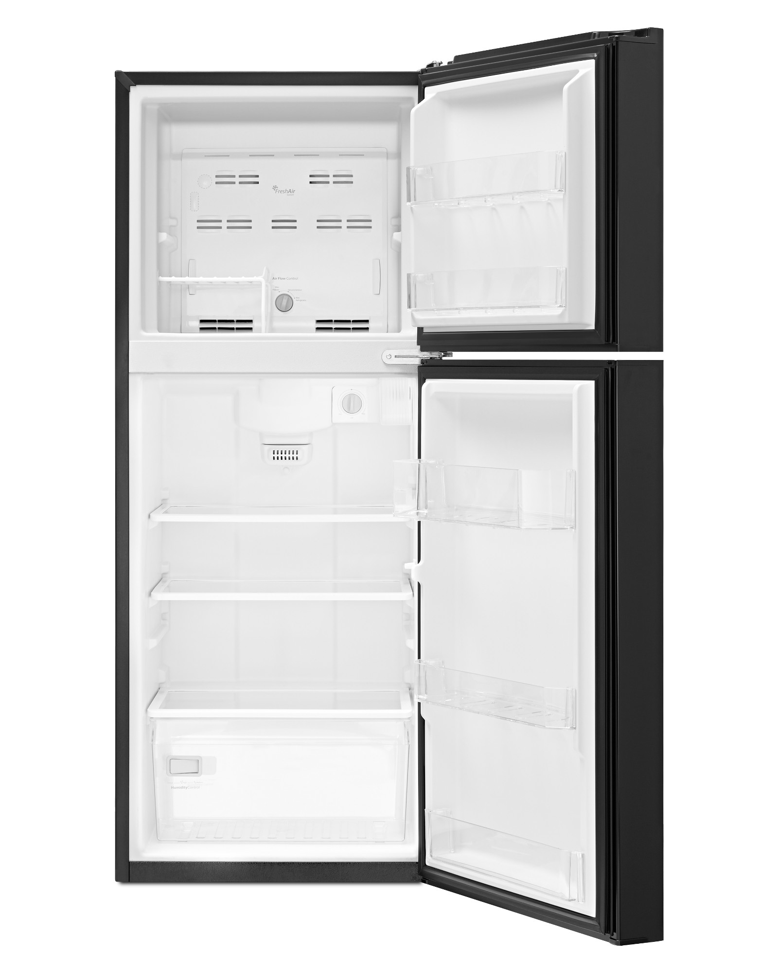 Whirlpool 11 cu. ft. Top Freezer Refrigerator - Black
