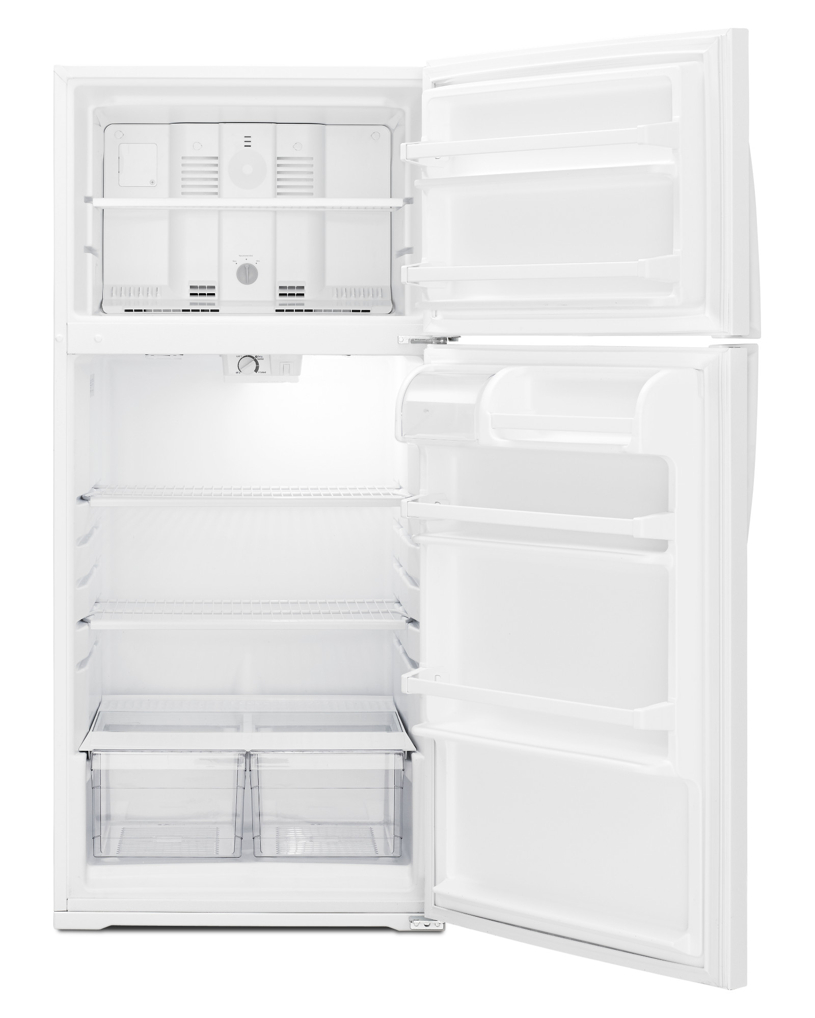 Whirlpool WRT134TFDW 14 cu. ft. Top Freezer Refrigerator - White