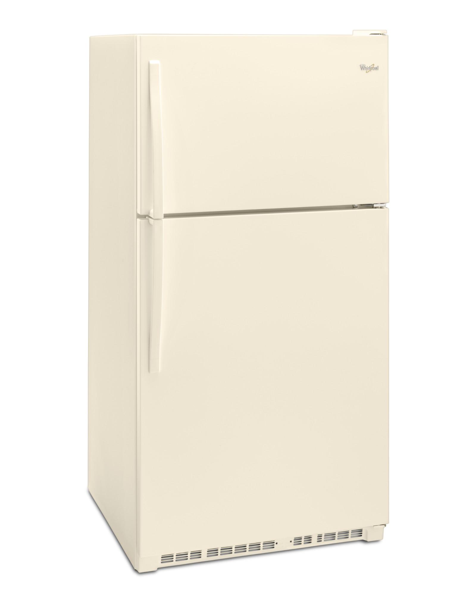 Whirlpool WRT311FZDT 20.5 cu. ft. Top Freezer Refrigerator - Biscuit