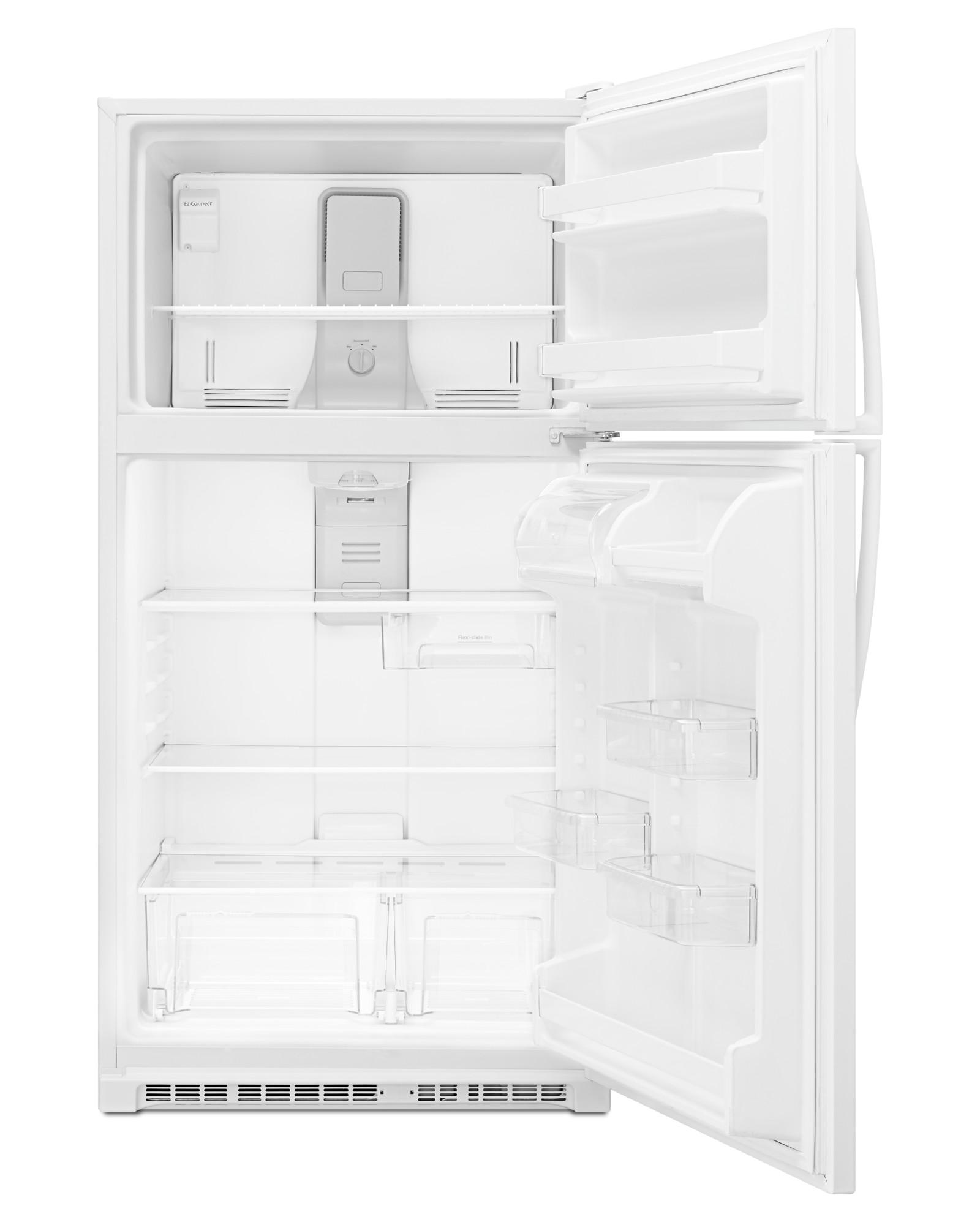 Whirlpool 20.5 cu. ft. Top Freezer Refrigerator - White