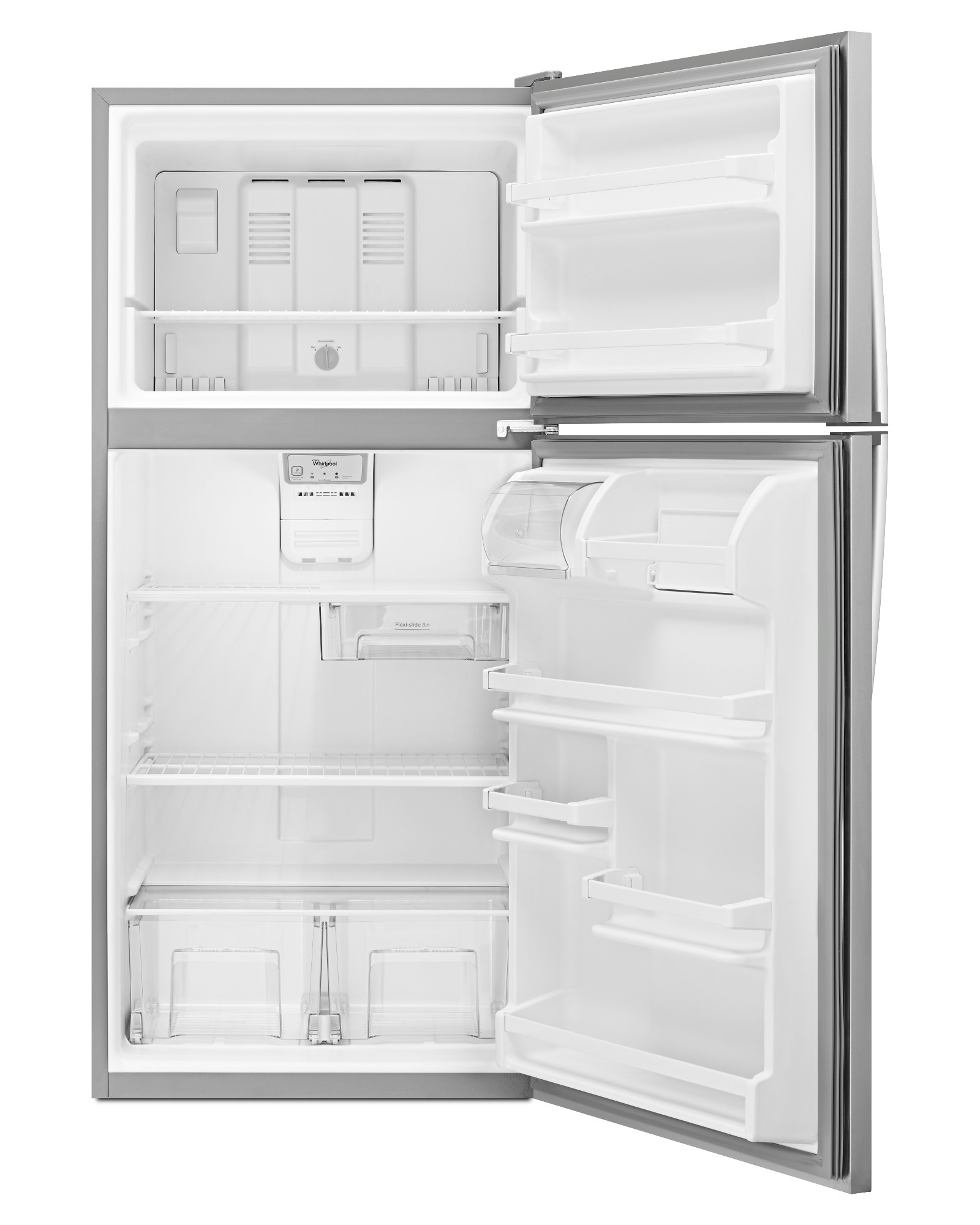 Whirlpool WRT138FZDM 18 cu. ft. Top Freezer Refrigerator - Stainless Steel