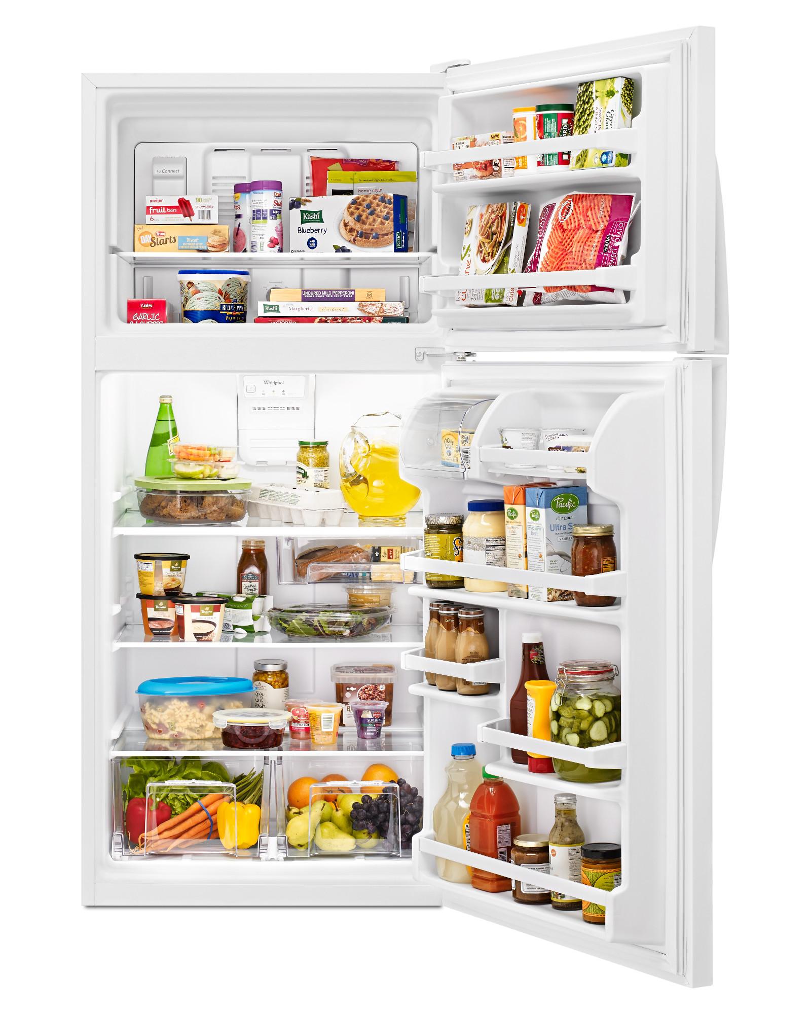 Whirlpool WRT318FZDW 18 cu. ft. Top Freezer Refrigerator - White