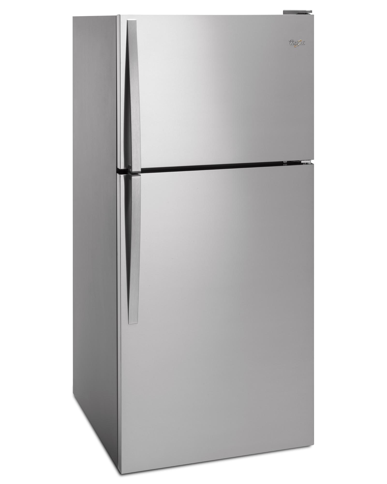 Whirlpool WRT318FZDM 18 cu. ft. Top Freezer Refrigerator - Stainless Steel